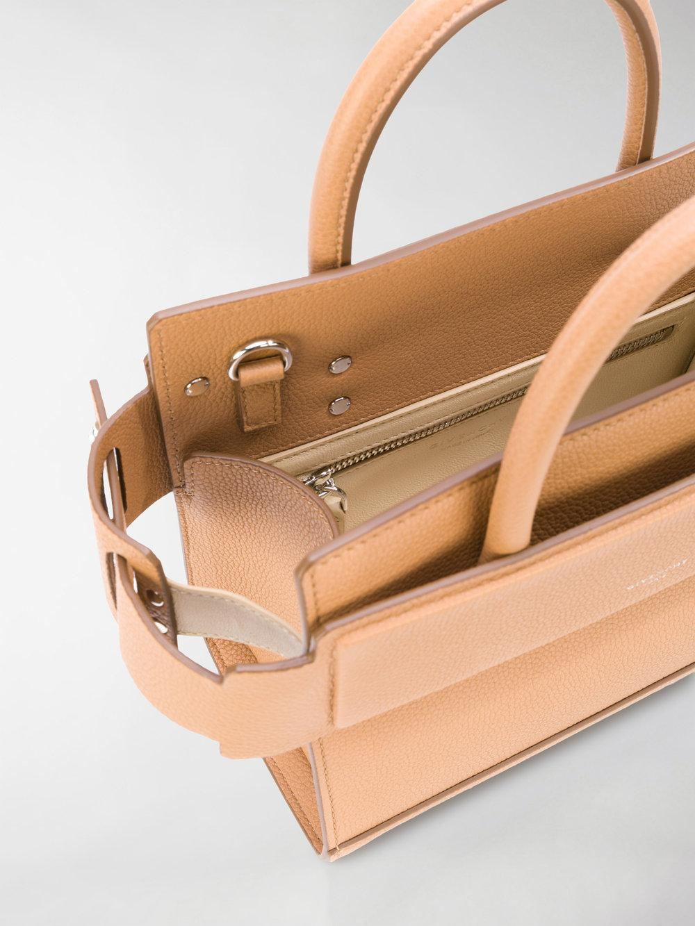 Givenchy Leather Horizon Tote