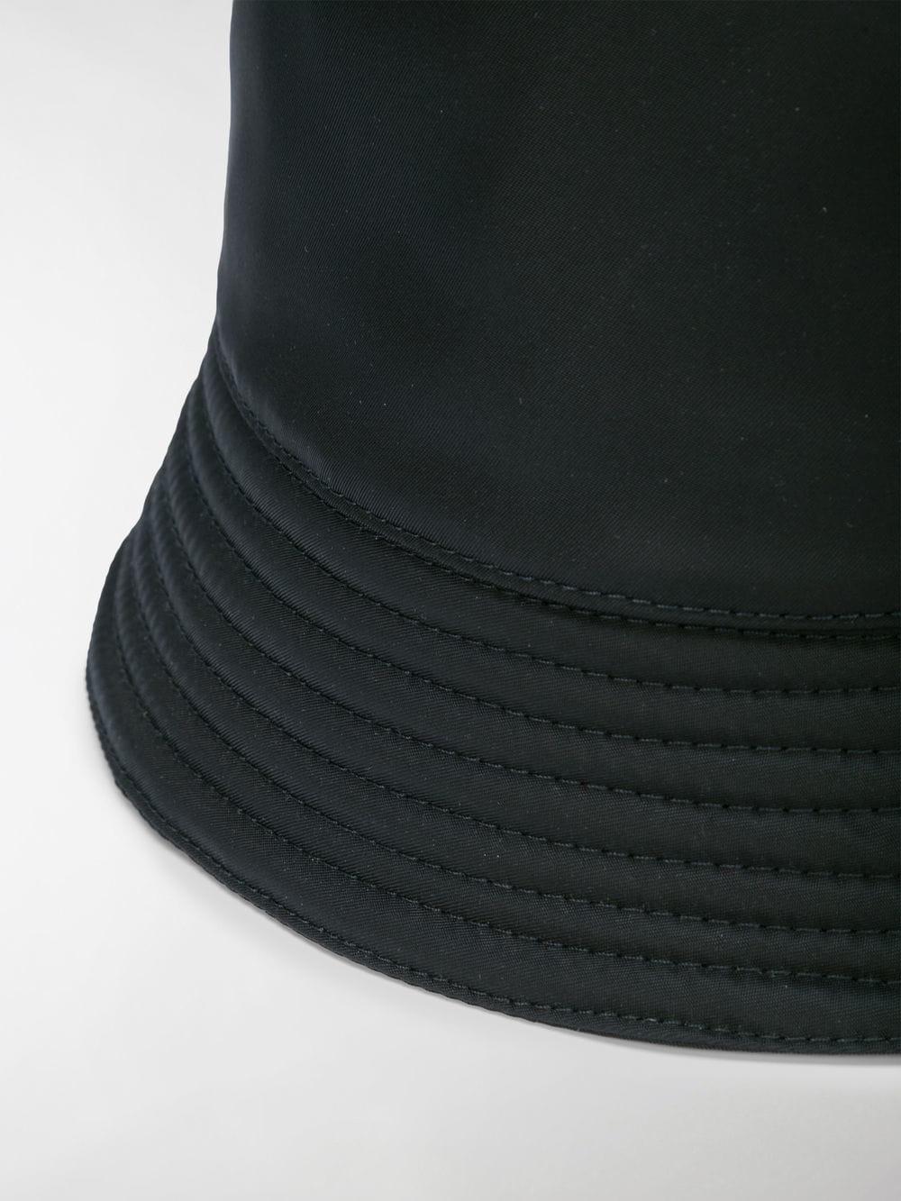 391820f7cf0 Prada - Black Technical Fabric Cap for Men - Lyst. View fullscreen