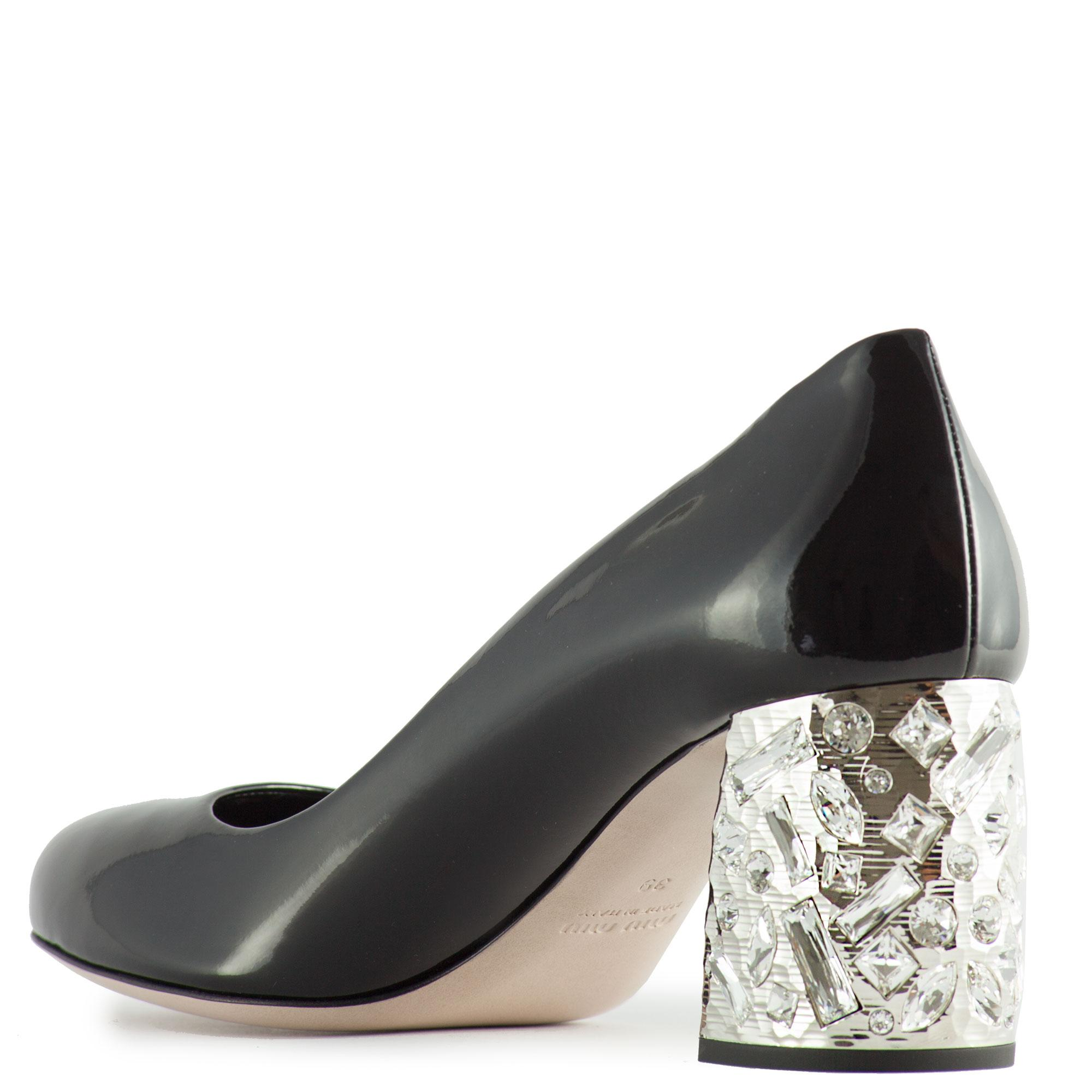 Dior Silhouette Round Shoes Black