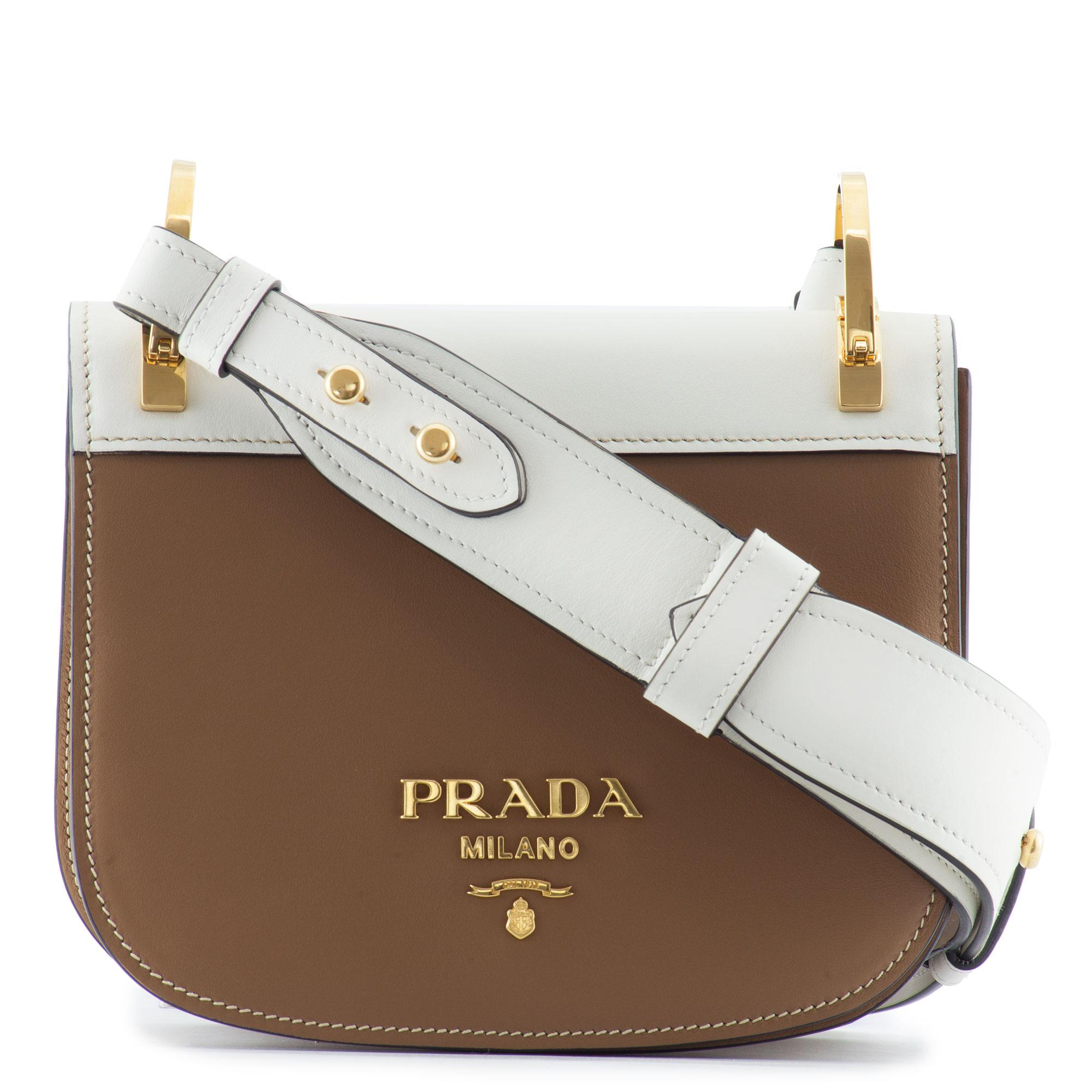 0c7a02857140ee Prada Saddle Bag Brown | Stanford Center for Opportunity Policy in ...