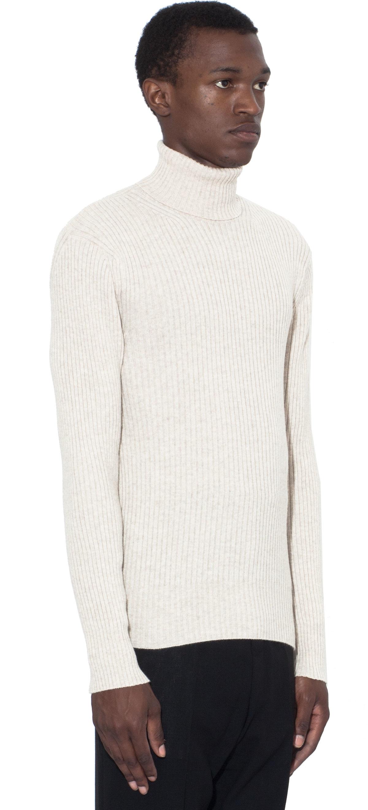 tom ford cashmere turtleneck sweater in white for men lyst. Black Bedroom Furniture Sets. Home Design Ideas