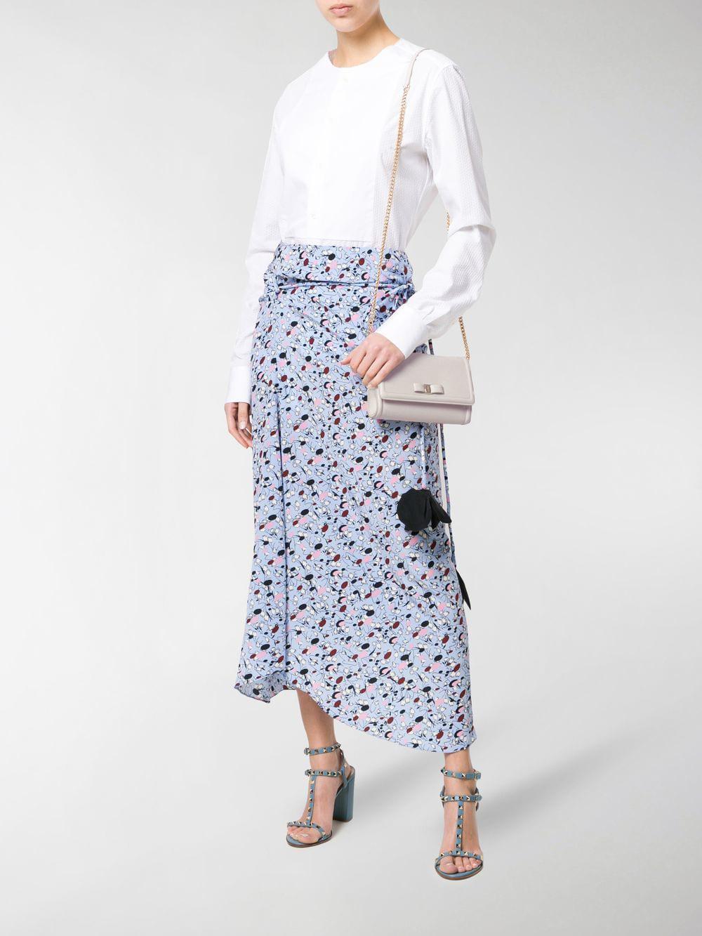 Ferragamo - Multicolor Vara Shoulder Bag - Lyst. View fullscreen 2df033361471b