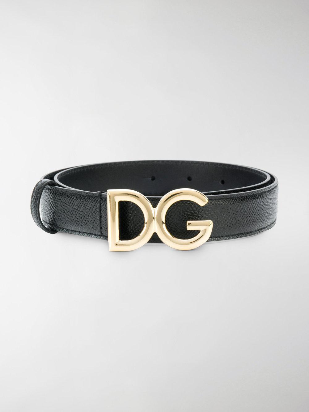 Cheapest Cheap Price Dolce & Gabbana DG logo buckle belt Buy Cheap 2018 k6sB7Zmeww