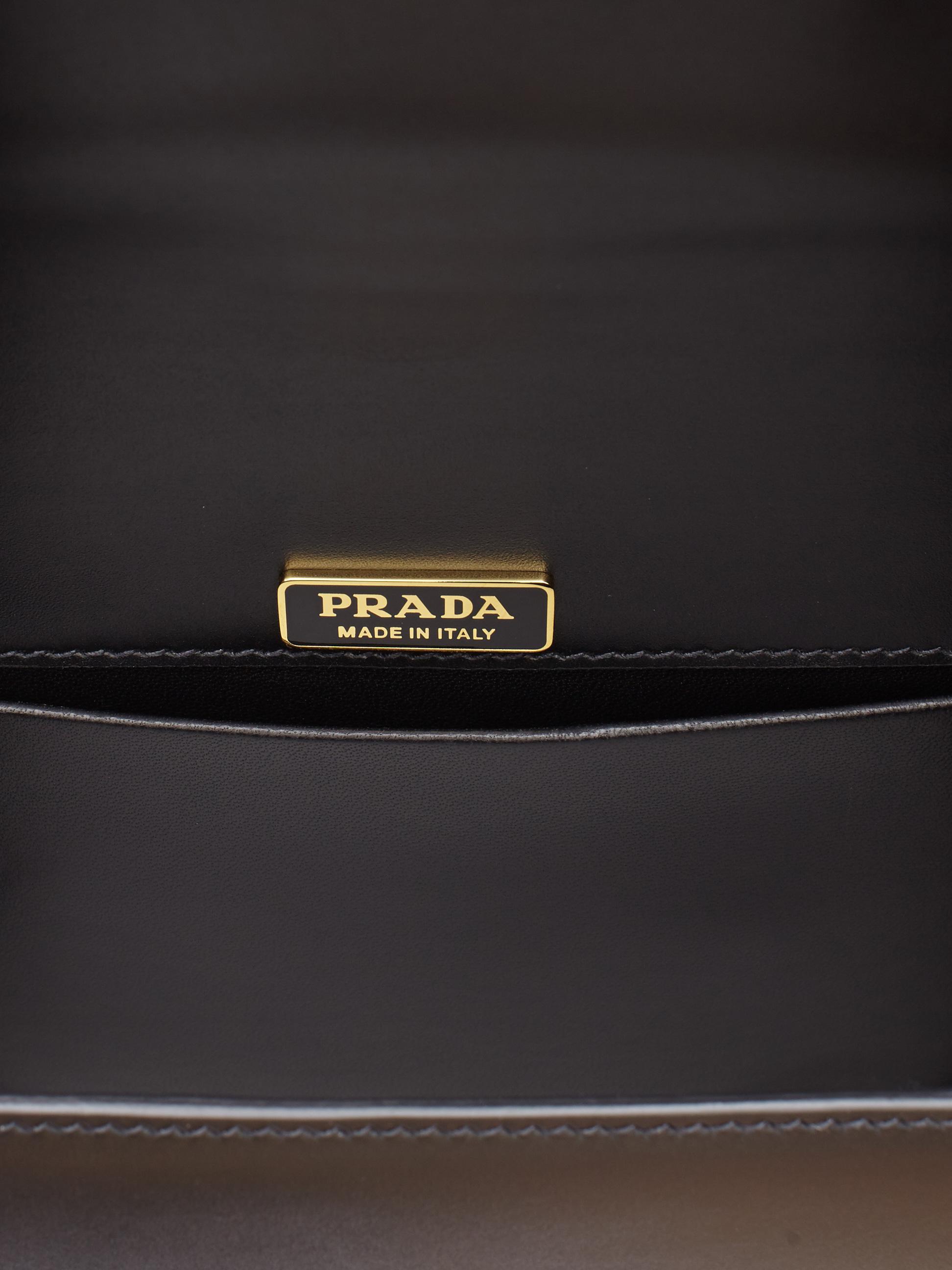 455d1b46f1dd ... norway lyst prada cahier lion head leather bag in black 2fce8 7a408
