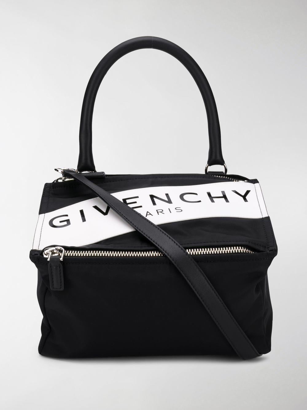 1753e3e4cc Lyst - Givenchy Small Pandora Tote Bag in Black