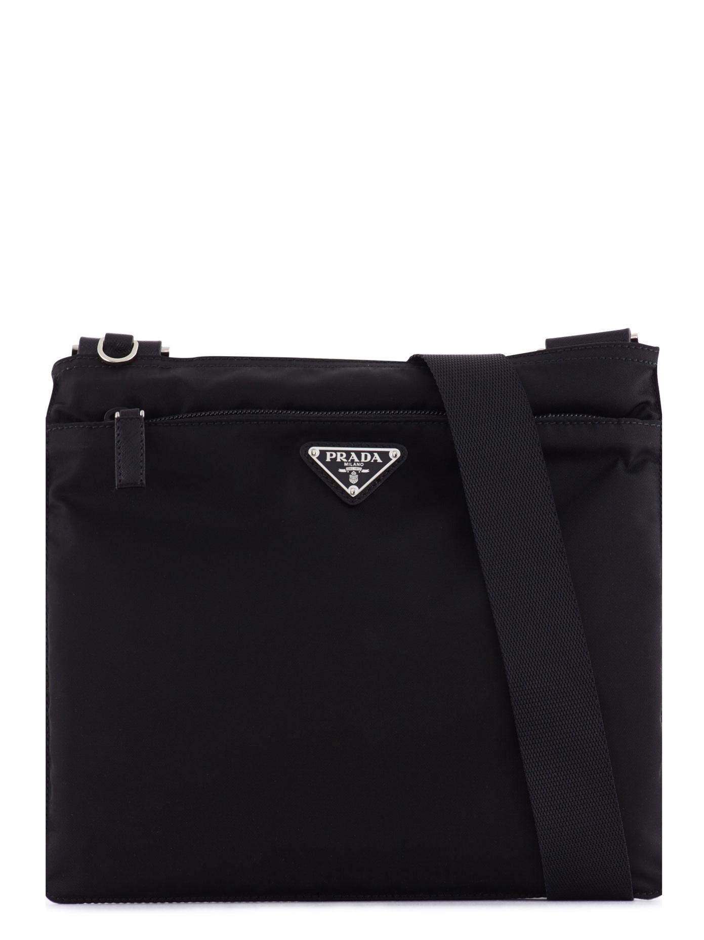 Flat Nylon Messenger Bag 27