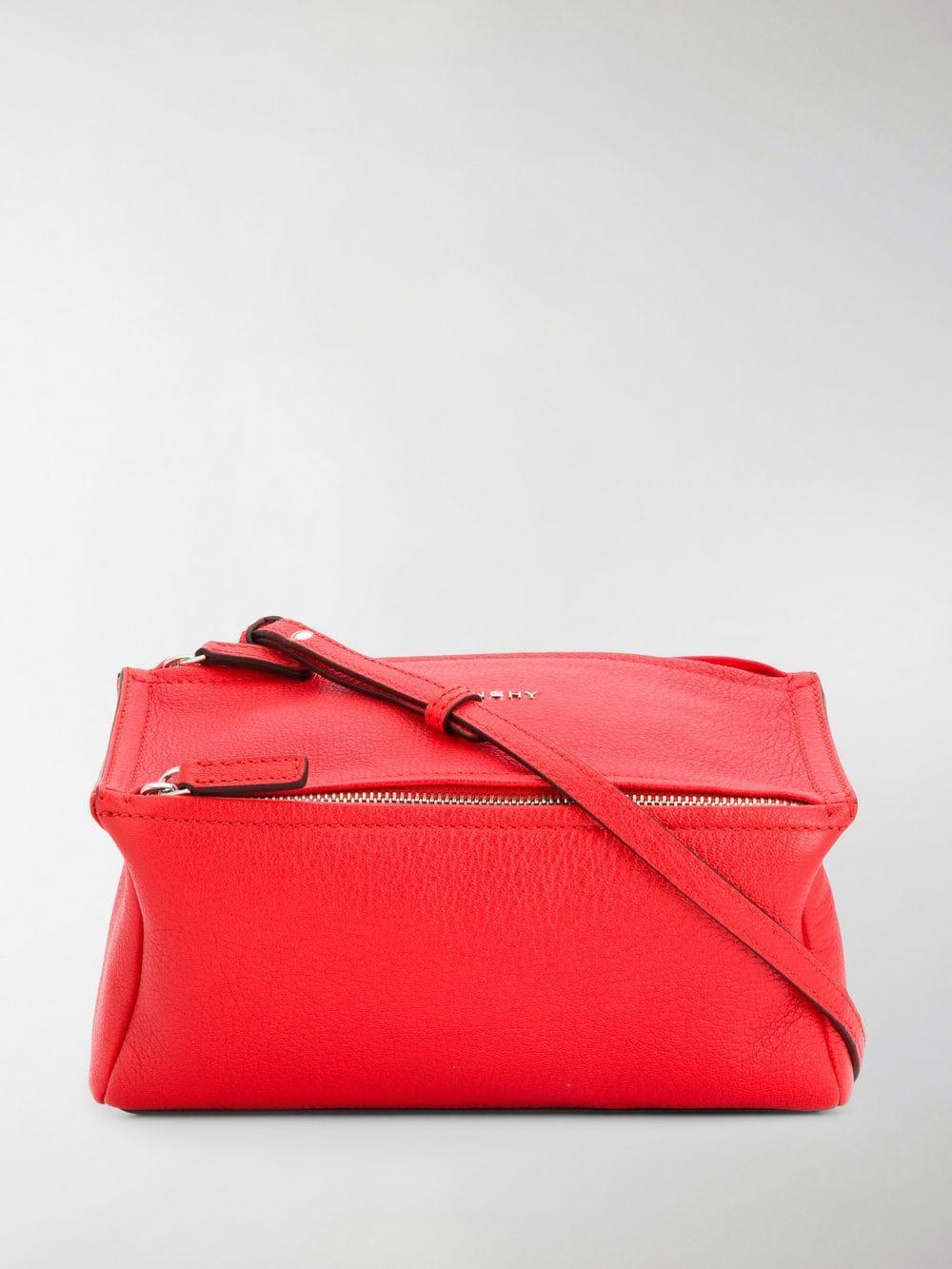 f65a9728876c Givenchy Mini Pandora Crossbody Bag in Red - Lyst