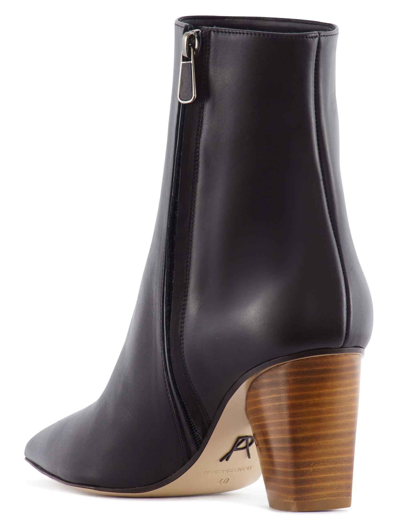 Ameican Eagle Black Chunky Heel Shoe
