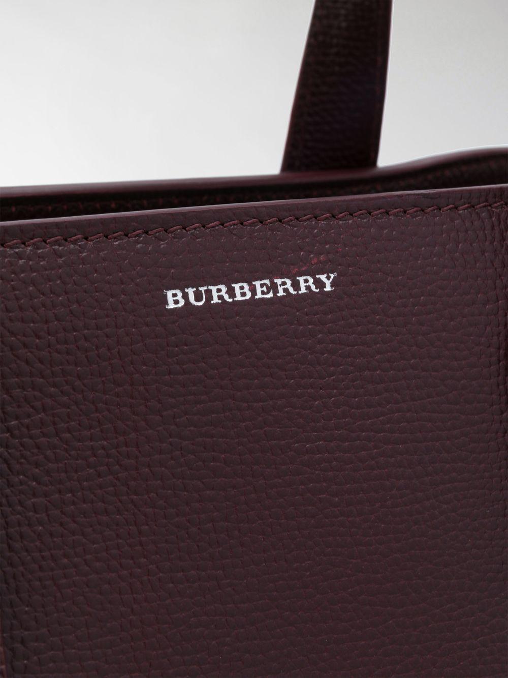 Burberry Medium Banner Bag in Red