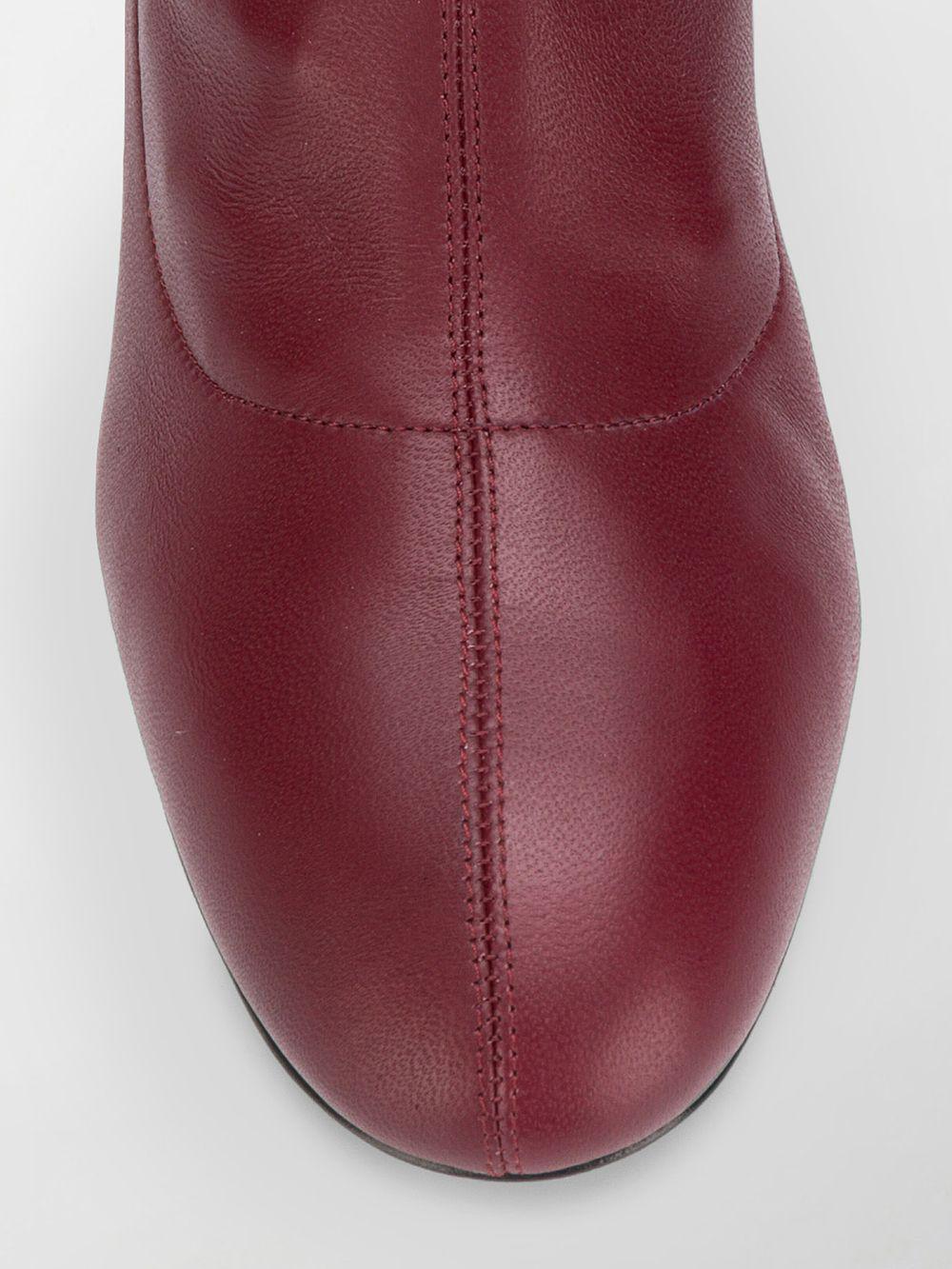 Alexander McQueen Over-the-knee Boots in Red