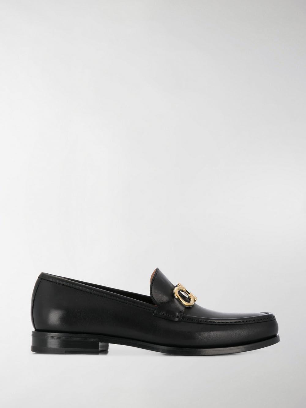 e6906c277794c Ferragamo Vintage Loafers in Black for Men - Lyst
