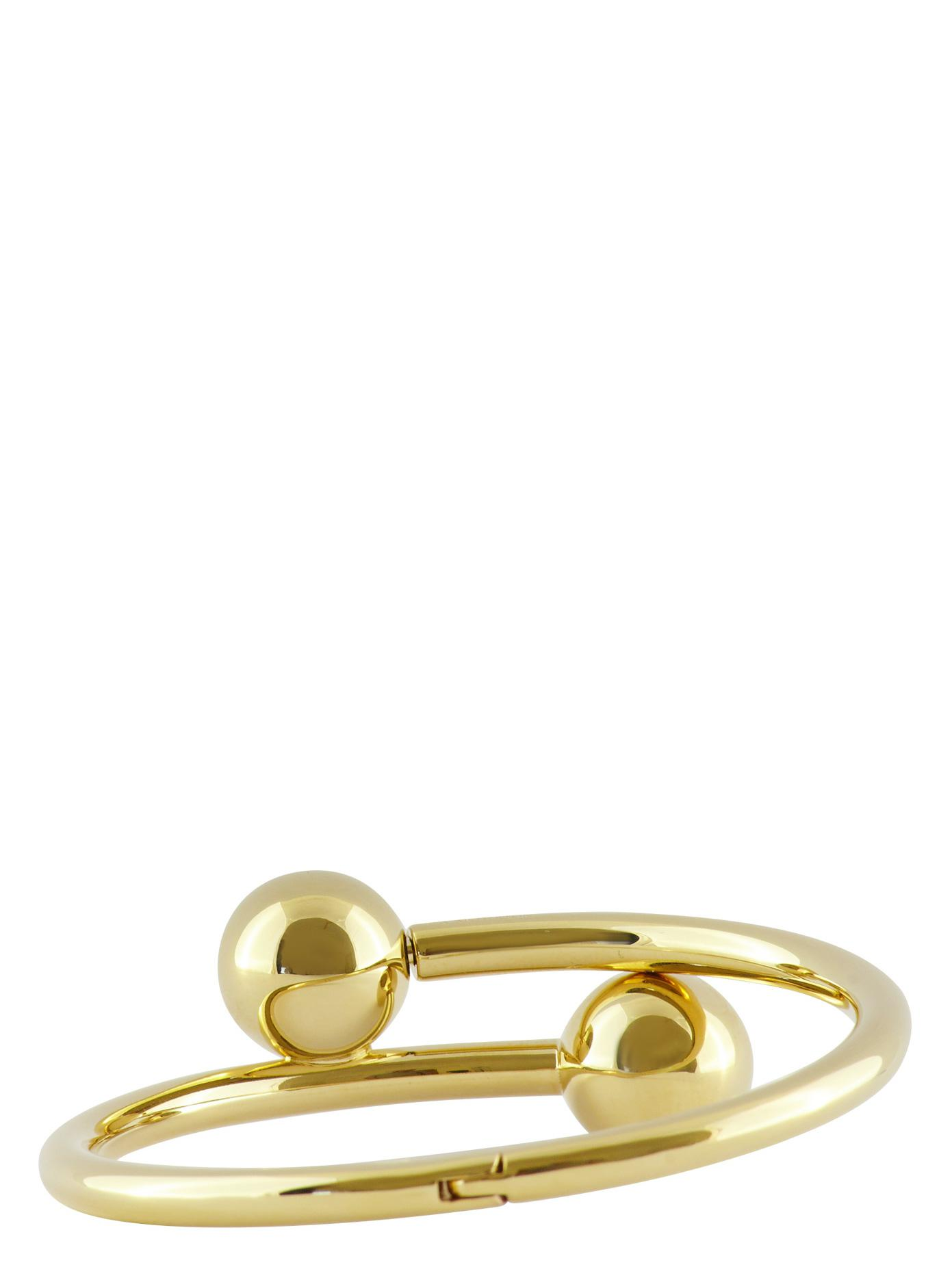Pierce gold-plated bangle J.W.Anderson