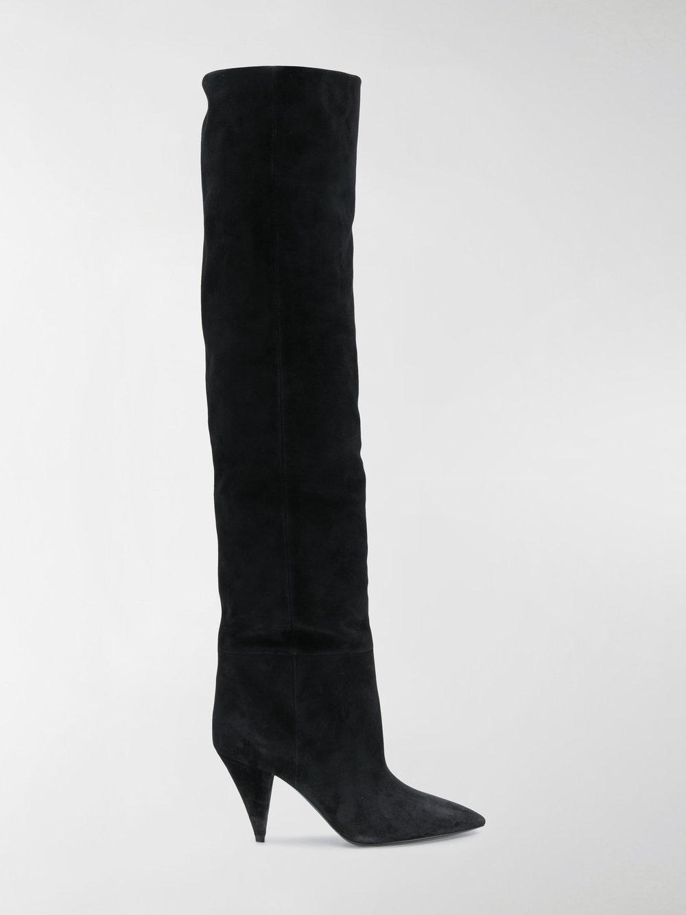 Saint LaurentEra 85 cuissard boots dccnny