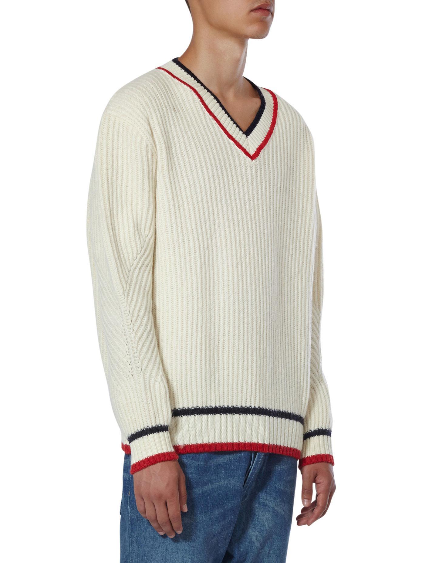 Maison Kitsuné Alpaca And Wool Blend Cricket Knit in Beige (Natural) for Men