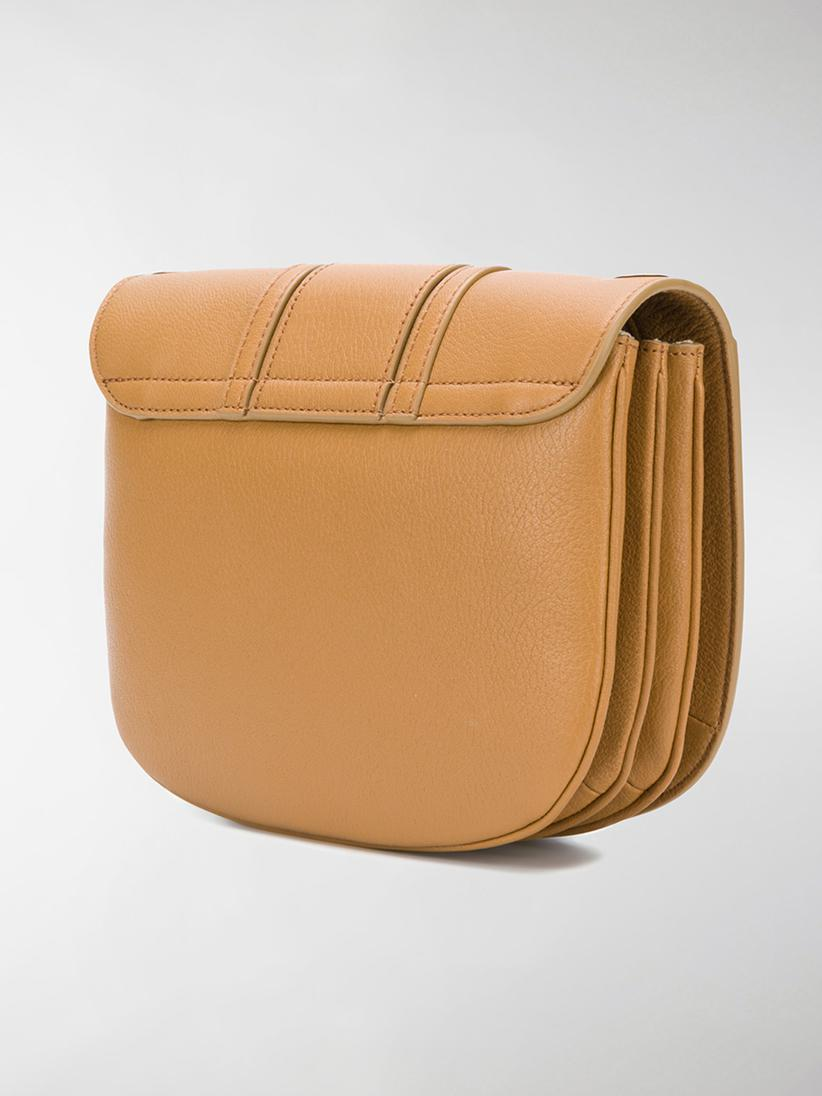 See By Chloé Leather Hana Cross Body Bag in Brown
