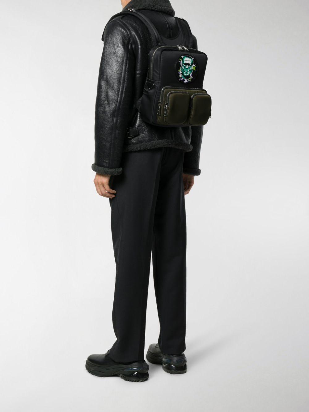 Jacket! Sew On Vest Backpack Printed Patch Bag THE ARMOURER