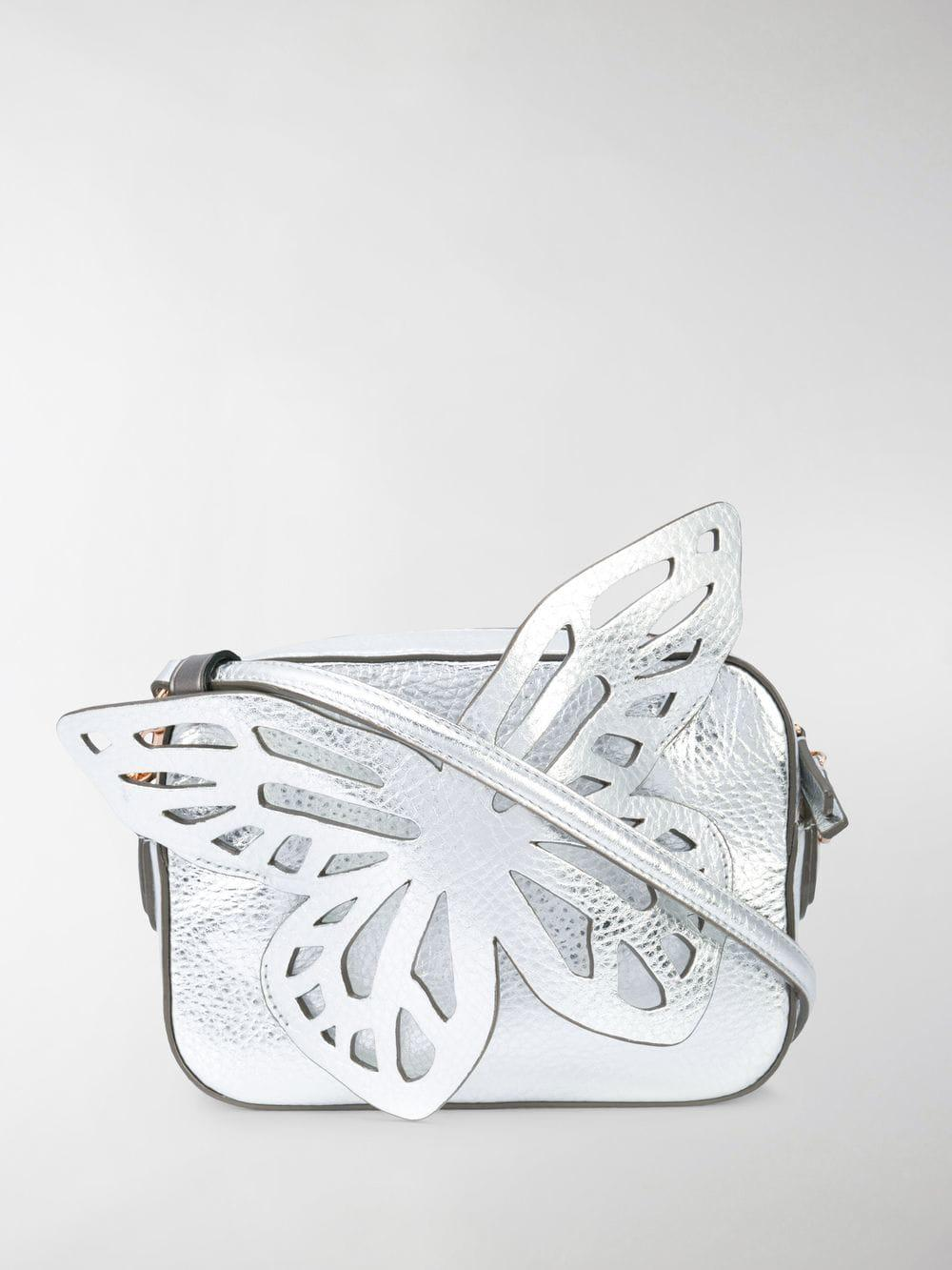 Sophia Webster Flossy Butterfly Metallic Leather Crossbody Camera Bag - Save 13%