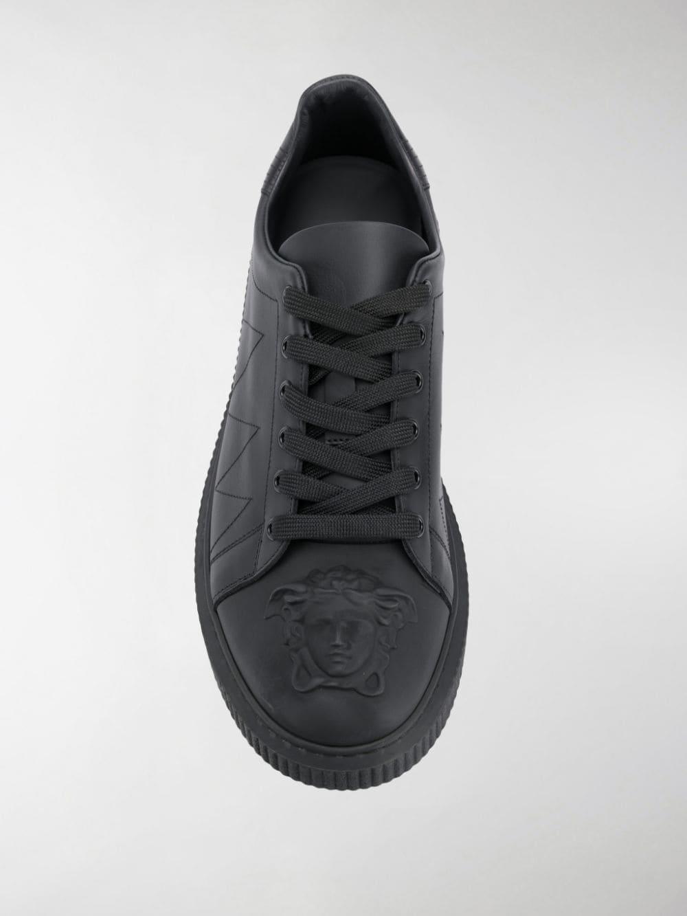 Versace Leather Medusa Head Logo