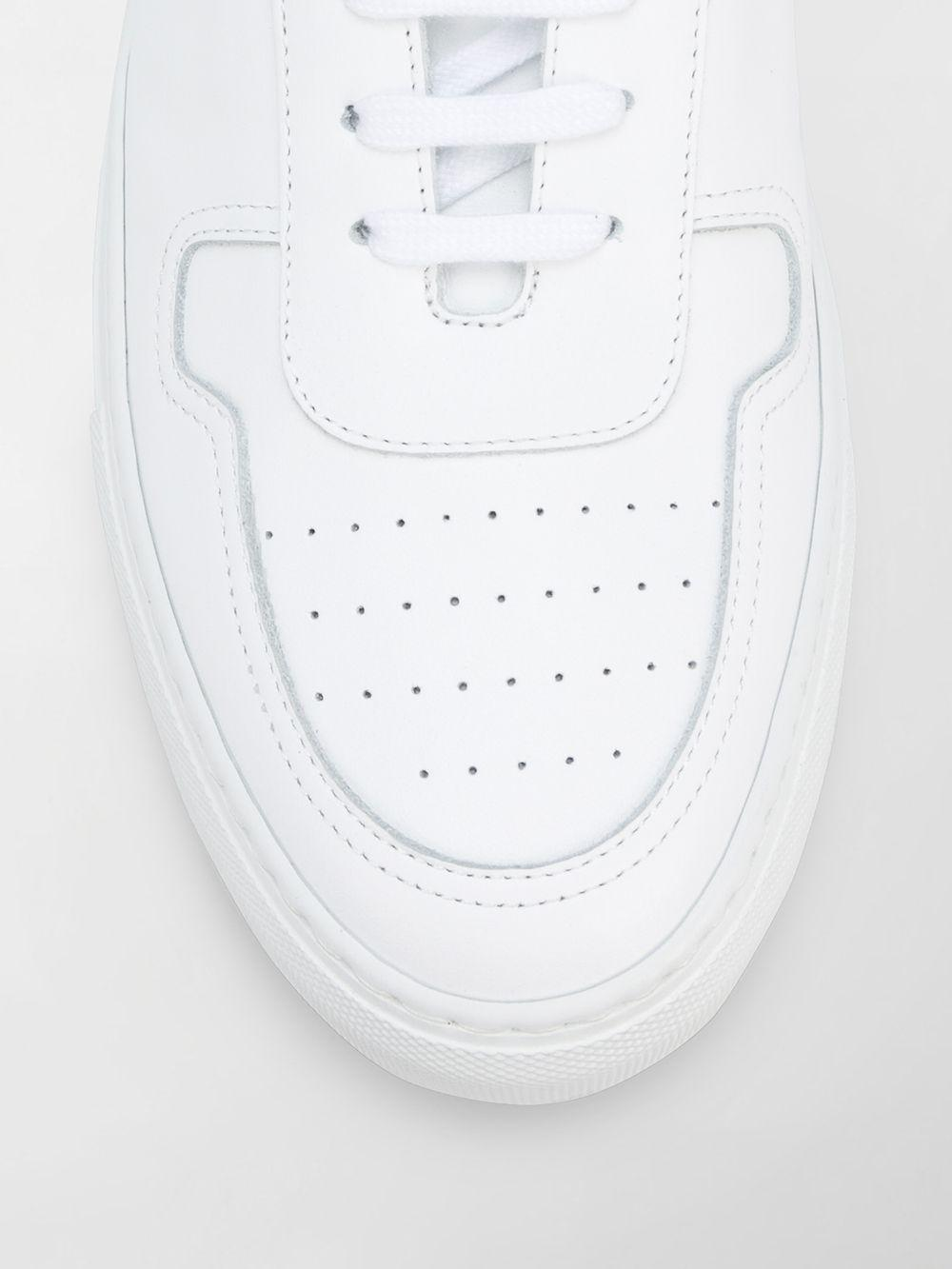 Common Projects Leather Bball Low-top Sneakers in White for Men