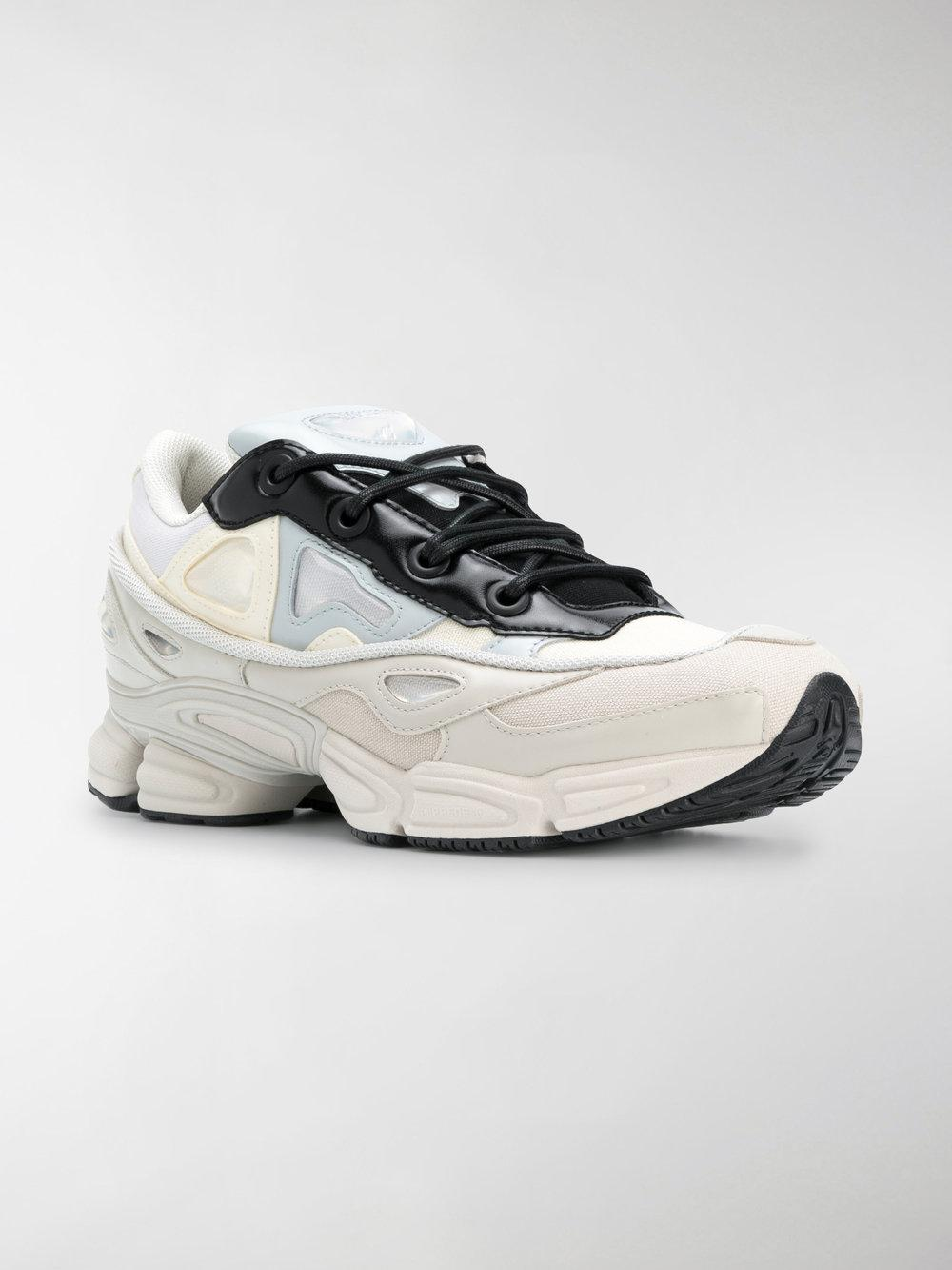 adidas By Raf Simons Leather Rs Ozweego Iii Runner Sneakers