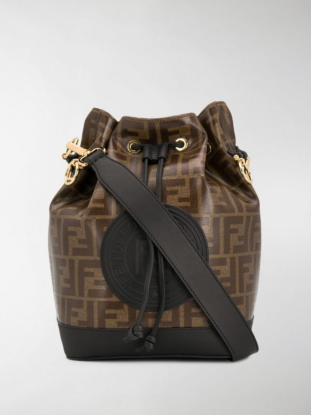 Fendi Mon Tresor Bucket Bag in Brown - Lyst ffb1cd1528617