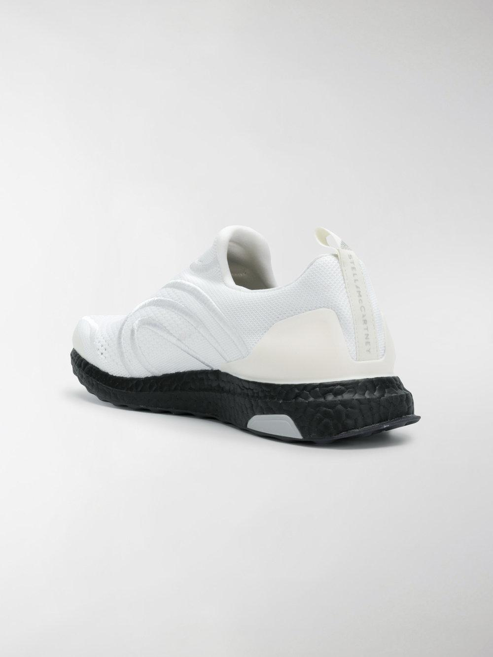 adidas By Stella McCartney Rubber Adidas By Running Sneakers in White
