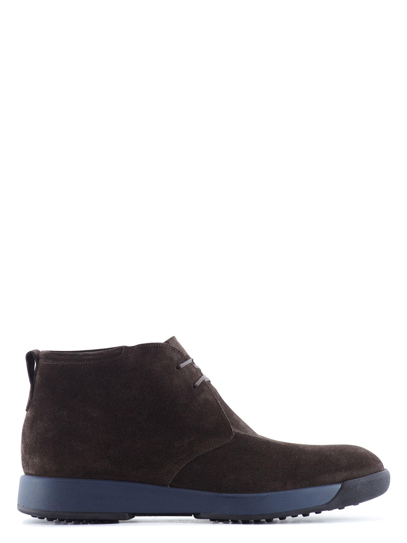 Reiss Brown Chunky Heel Shoes