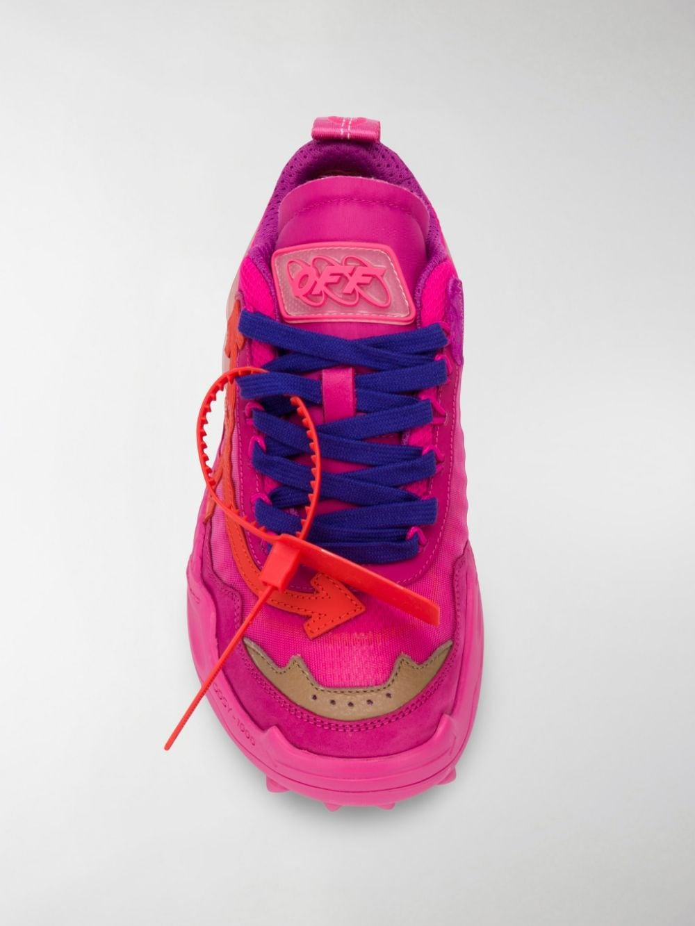Fuchsia Odsy-1000 Sneakers in Pink