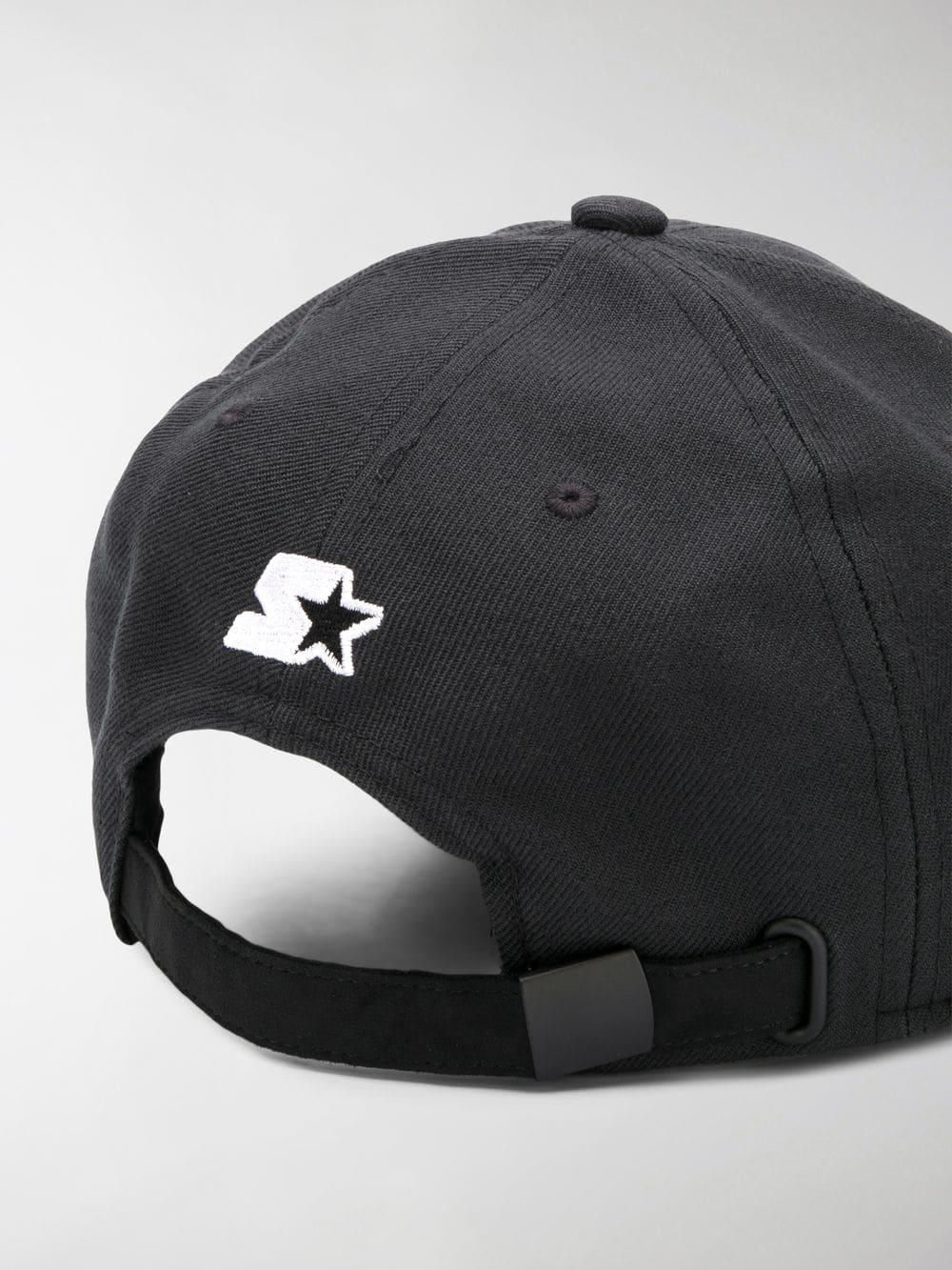 7c3a63c2d02 Marcelo Burlon - Black Starter Cross Cap for Men - Lyst. View fullscreen