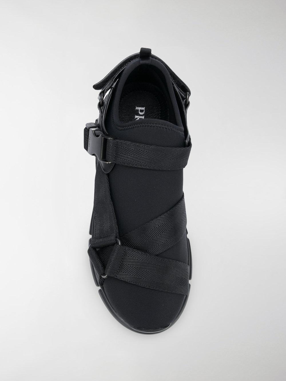 Prada Slipper Neoprene in Black