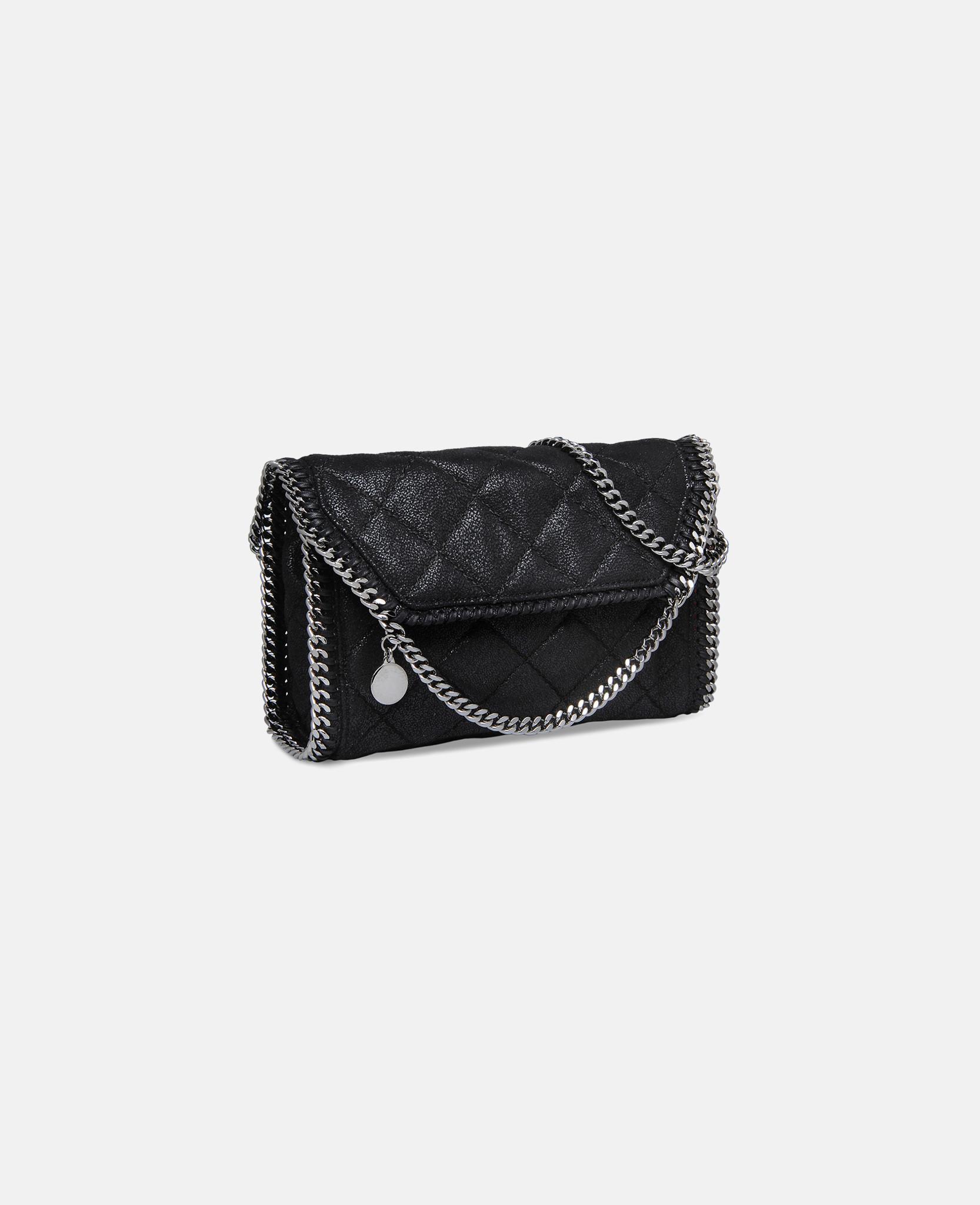 lyst stella mccartney falabella quilted mini bag in black. Black Bedroom Furniture Sets. Home Design Ideas