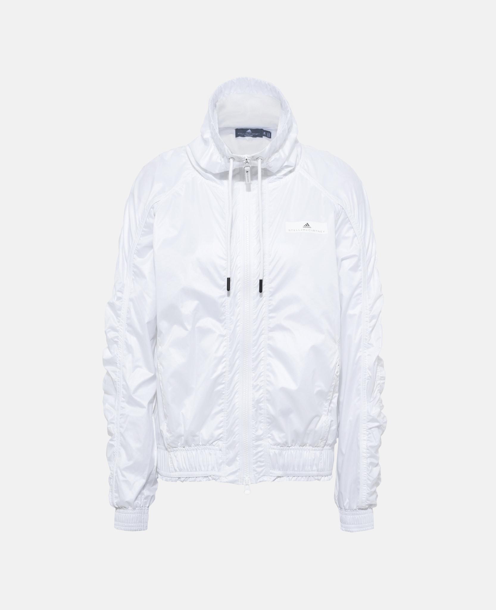 2fca917baf Lyst - Adidas By Stella Mccartney White Barricade Jacket in White