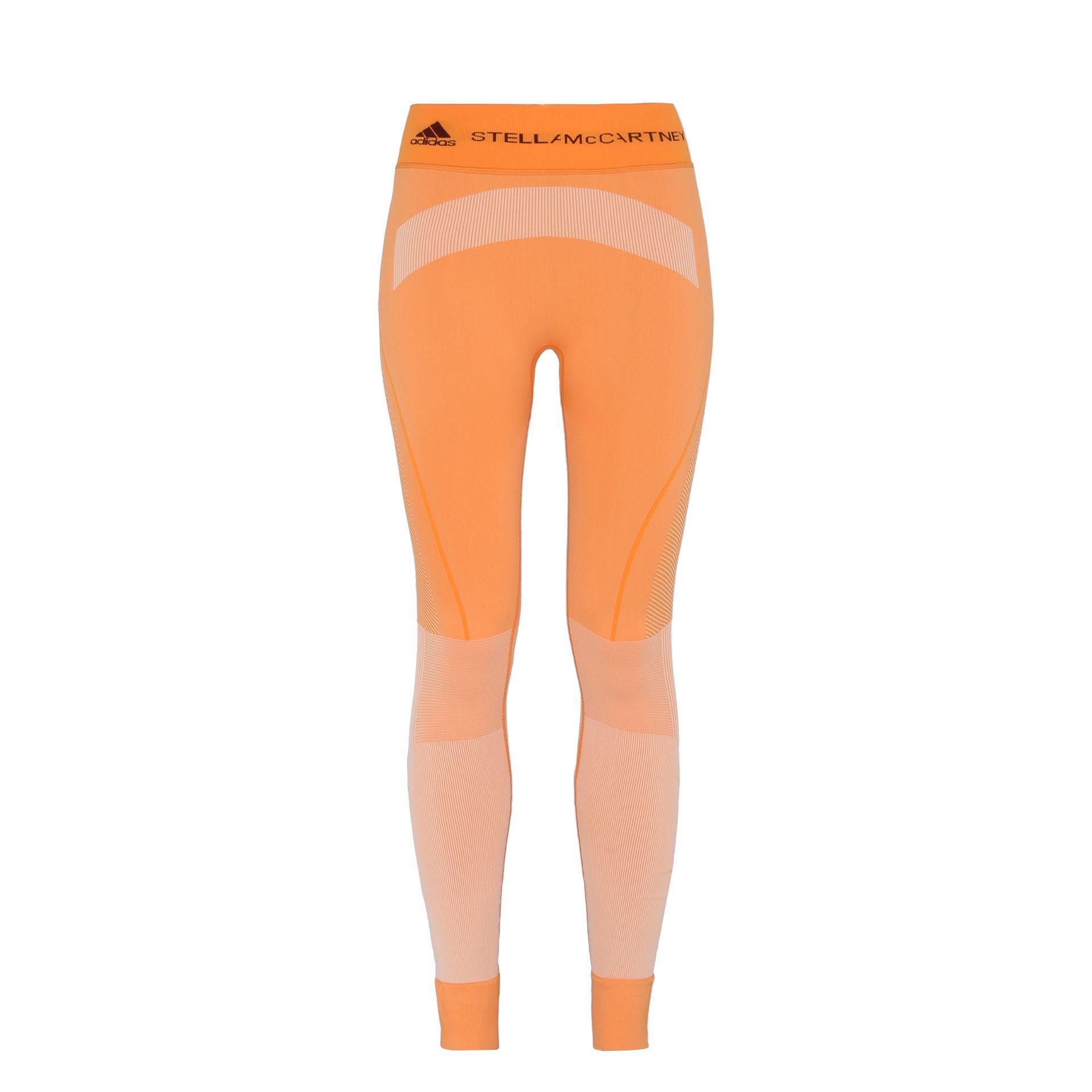 adidas leggings orange