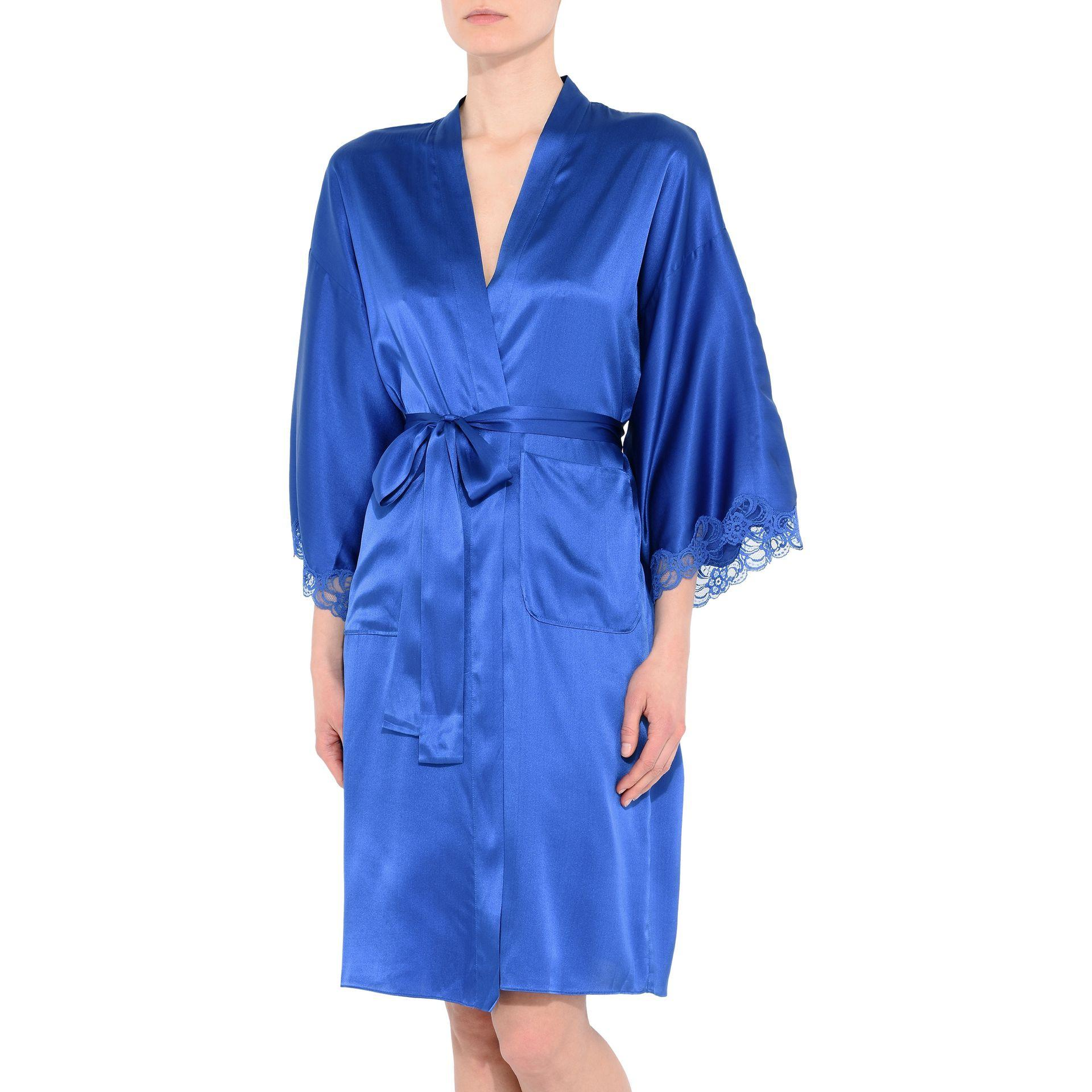 lyst stella mccartney robe in blue. Black Bedroom Furniture Sets. Home Design Ideas