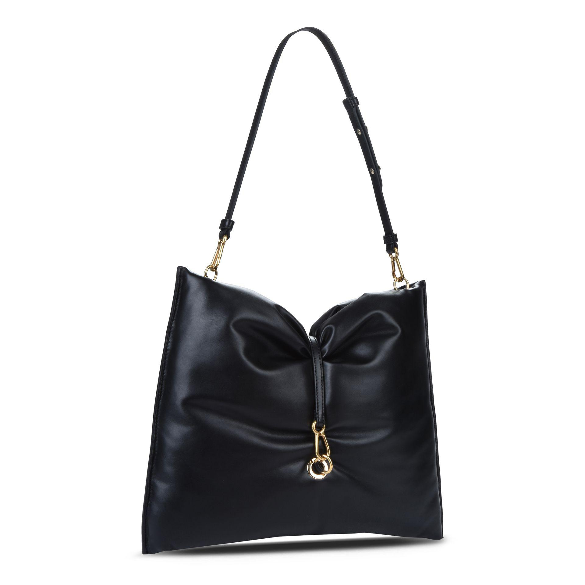 095786661c70 Lyst - Stella McCartney Black Bubble Hobo Bag in Black