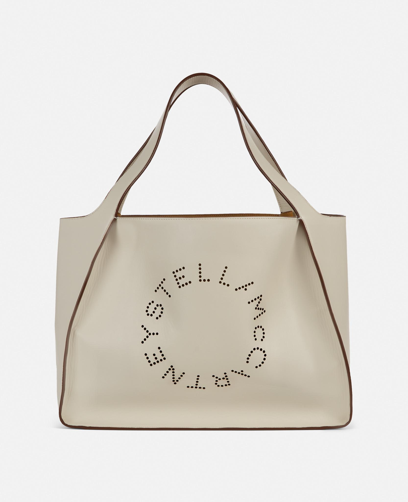 Stella McCartney Synthetic Stella Logo Tote Bag in White