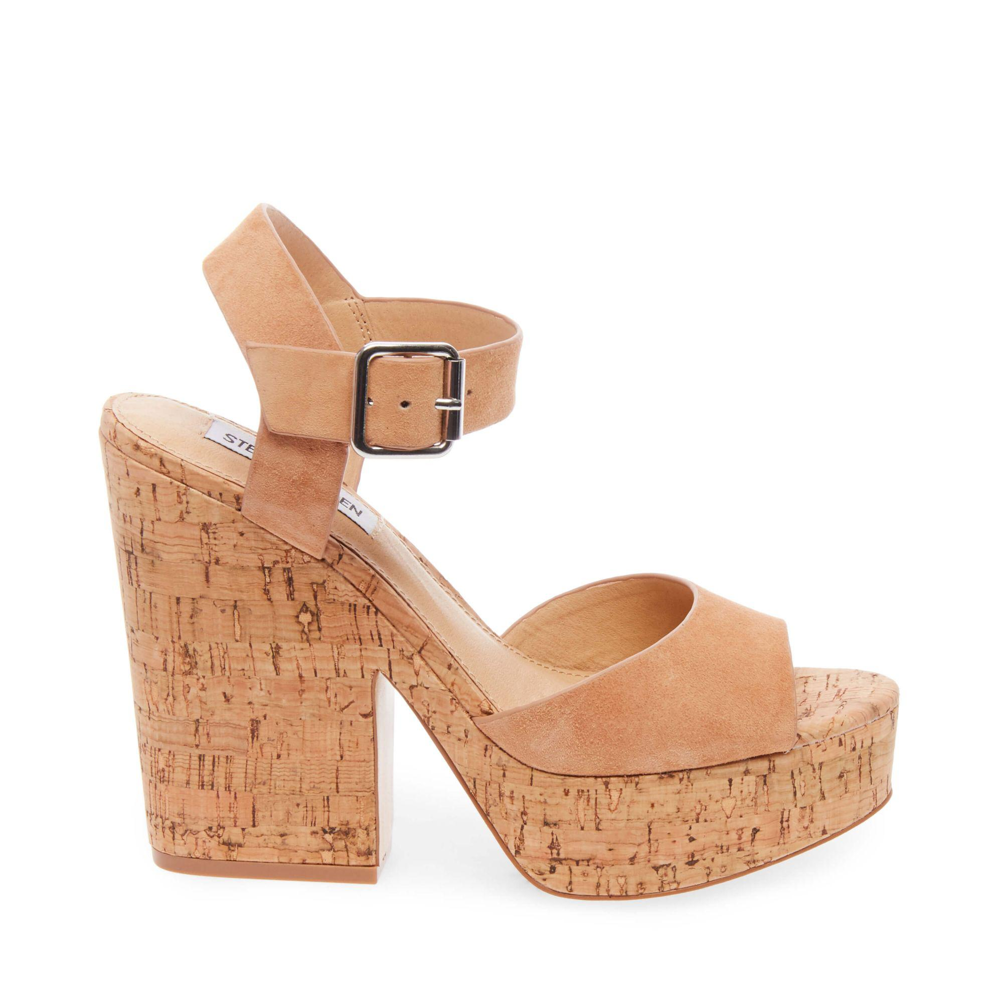 d37227c2ae9f Lyst - Steve Madden Leighton in Natural