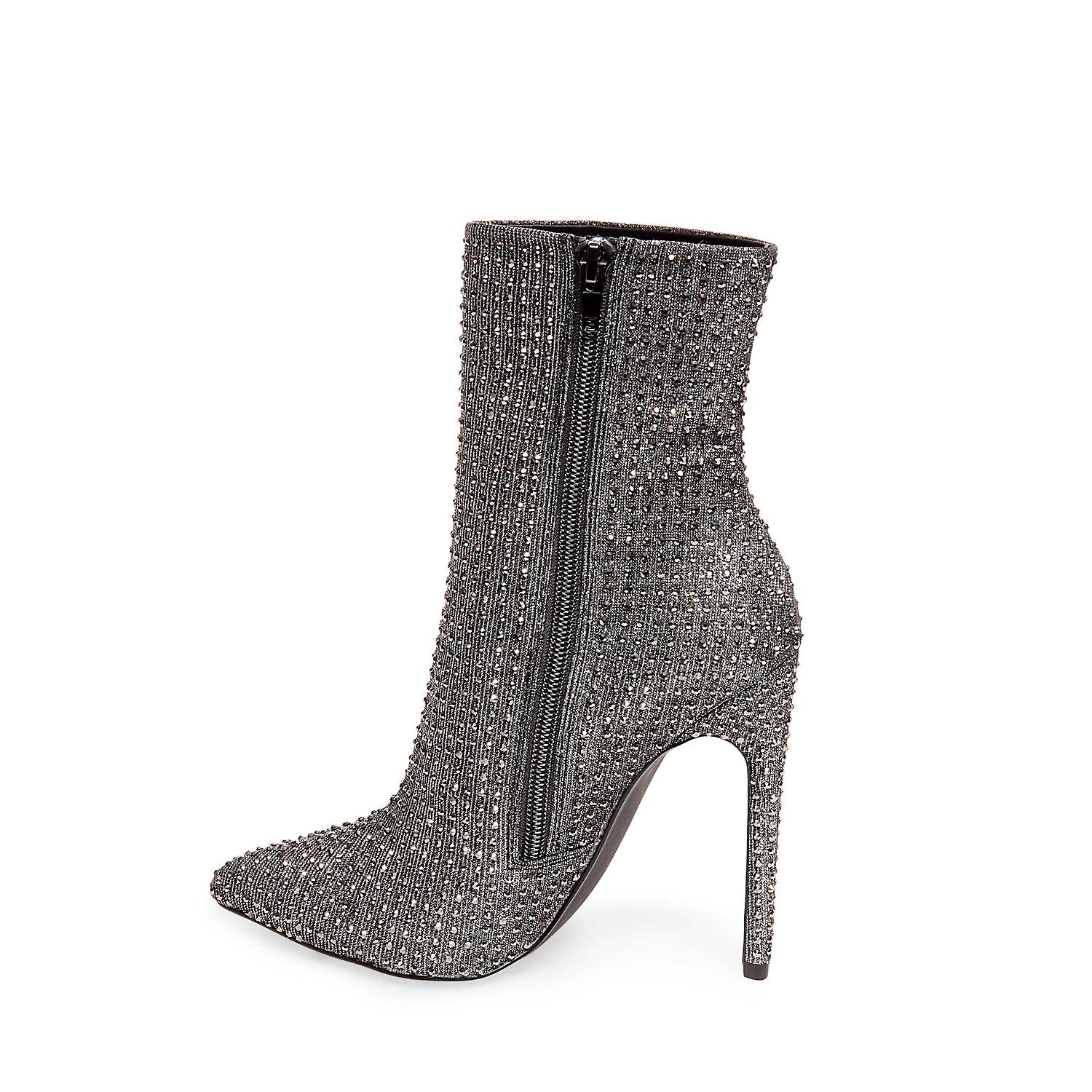 Steve Madden WIFEY - High heeled ankle boots - rhinestones 91ccITFo2q