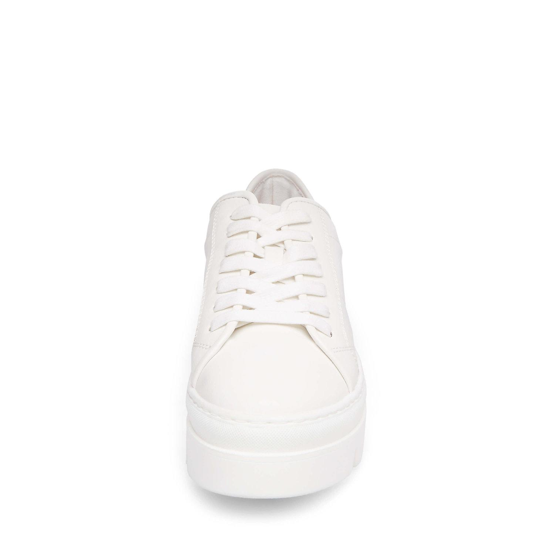 67a8edbf6f1 Steve Madden White Kickstart Fashion Sneaker
