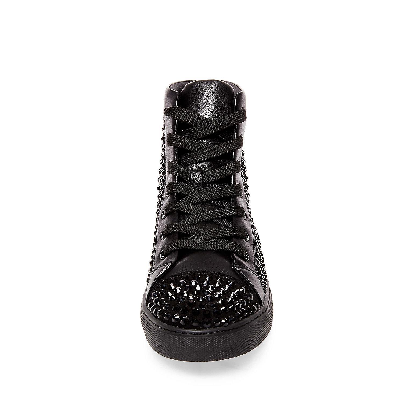 Steve Madden Crescent Sneaker in Black