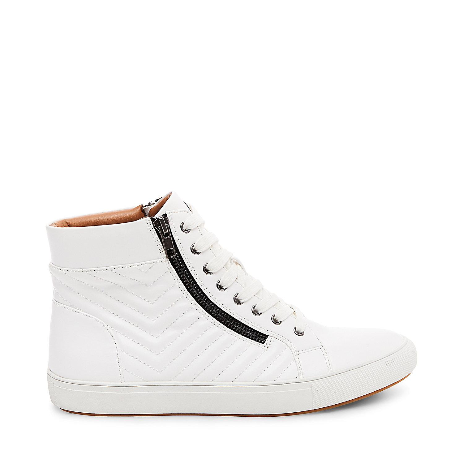 6f2783644a8 Lyst - Steve Madden Punted in White