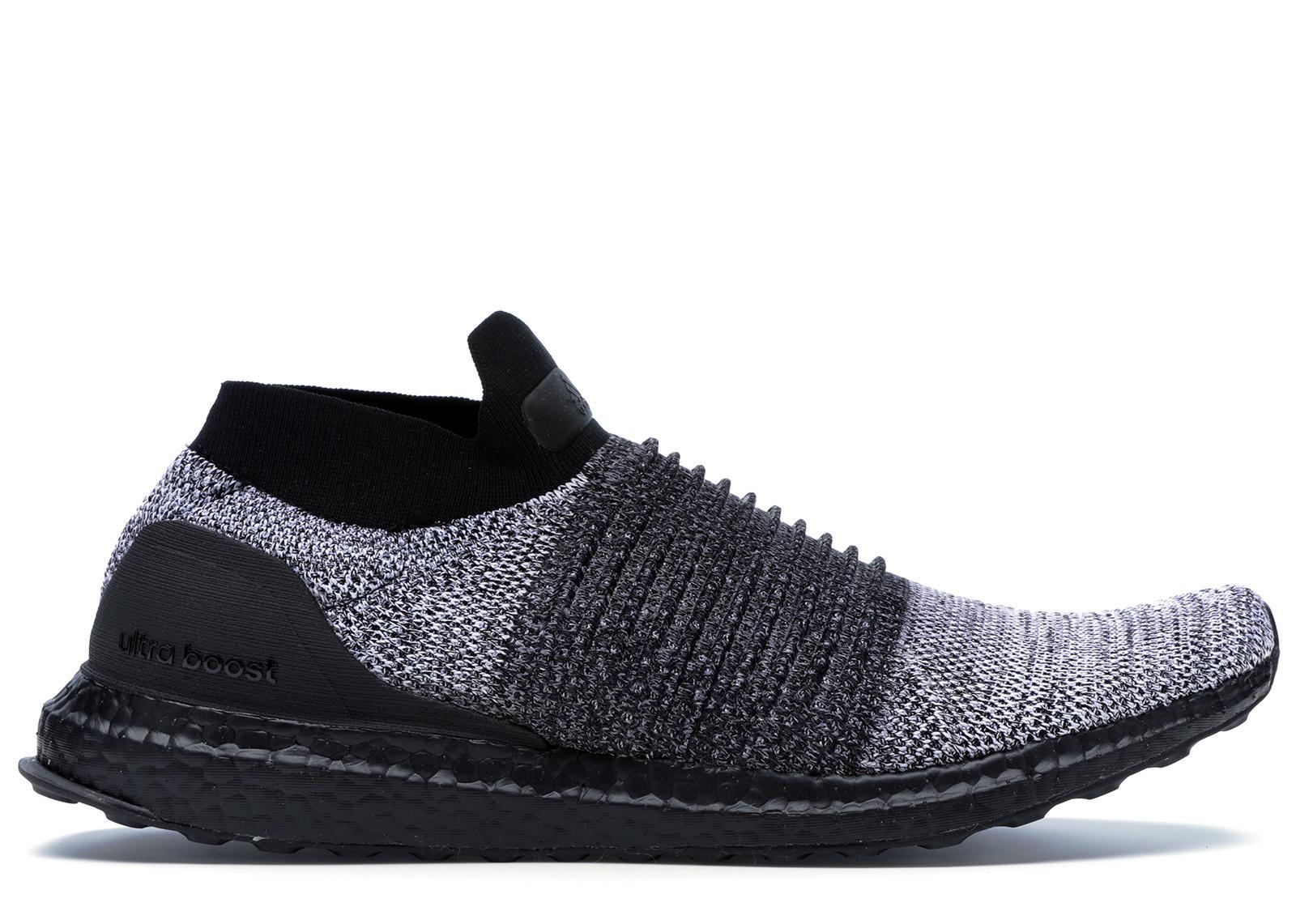 adidas Ultra Boost Laceless Mid Black