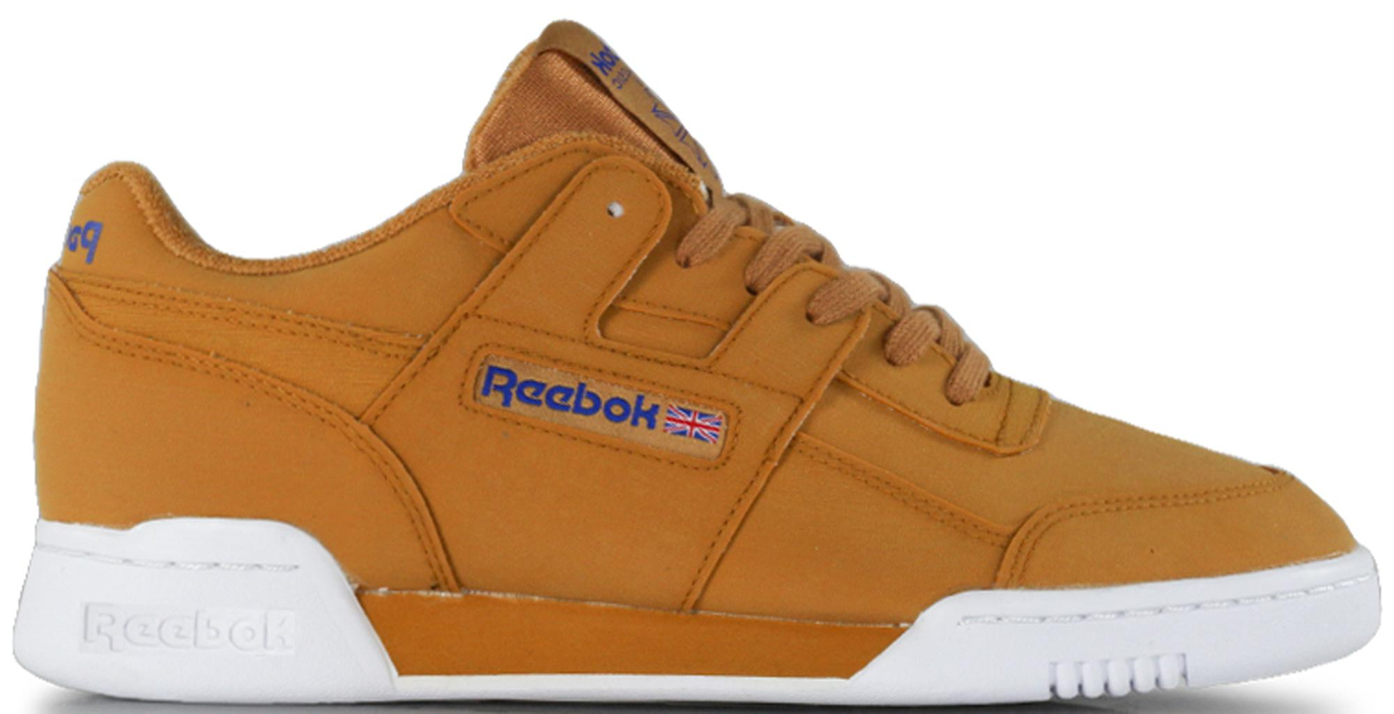 ed1a43c1a6c Lyst - Reebok Workout Lo Plus Packer Shoes Reverse Gum in Brown for Men