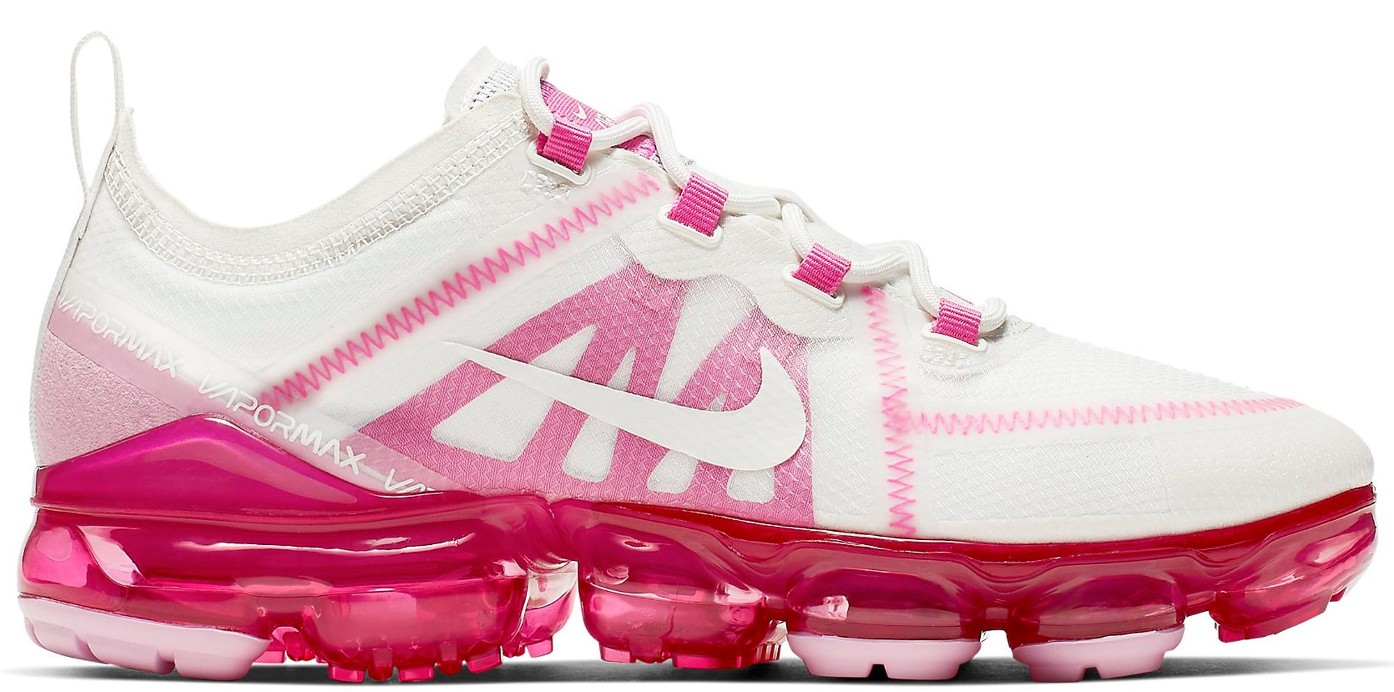 nike vapormax white and pink