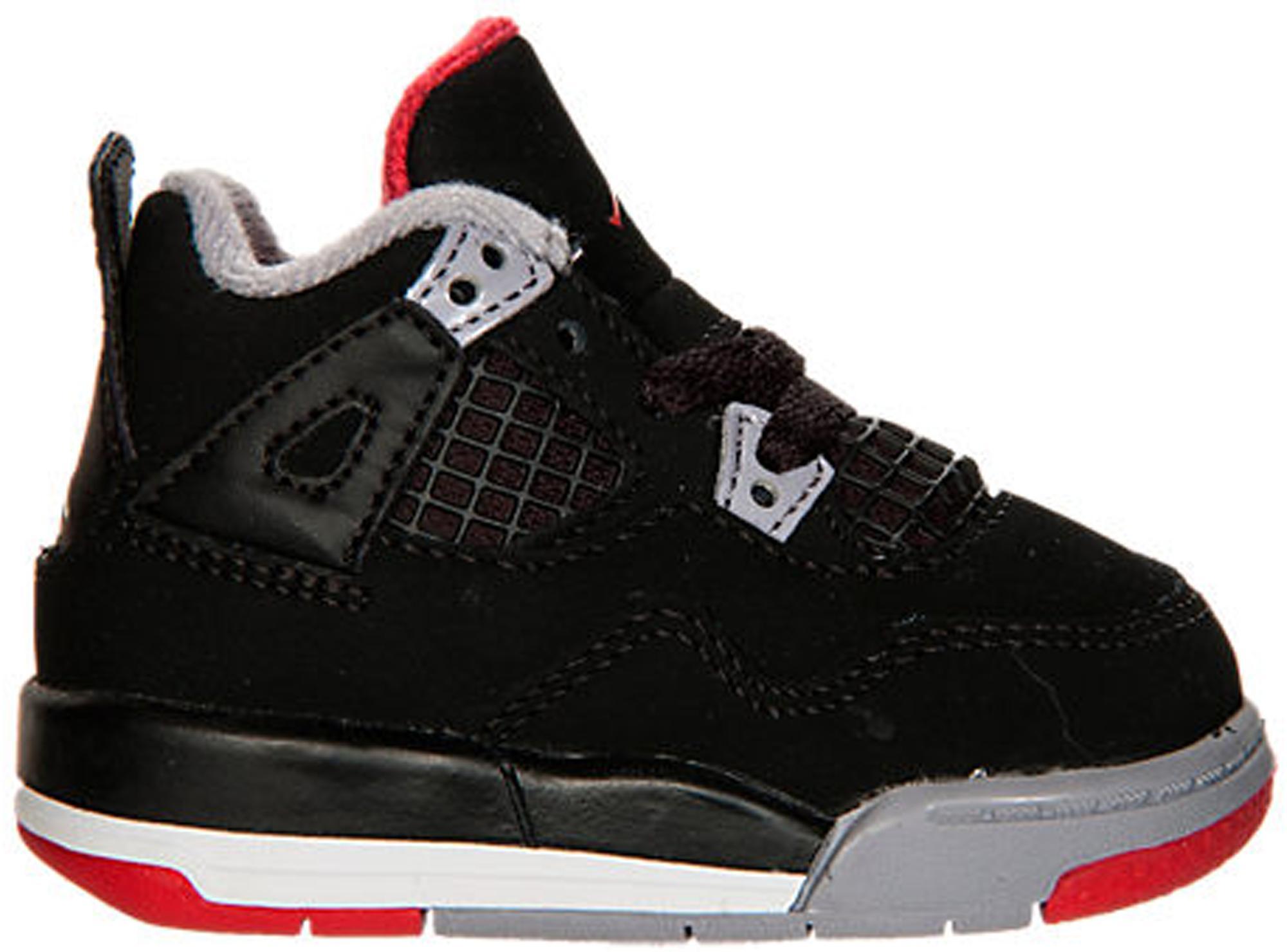 55a8e97d066 Lyst - Nike 4 Retro Black Cement 2012 (td) in Black for Men