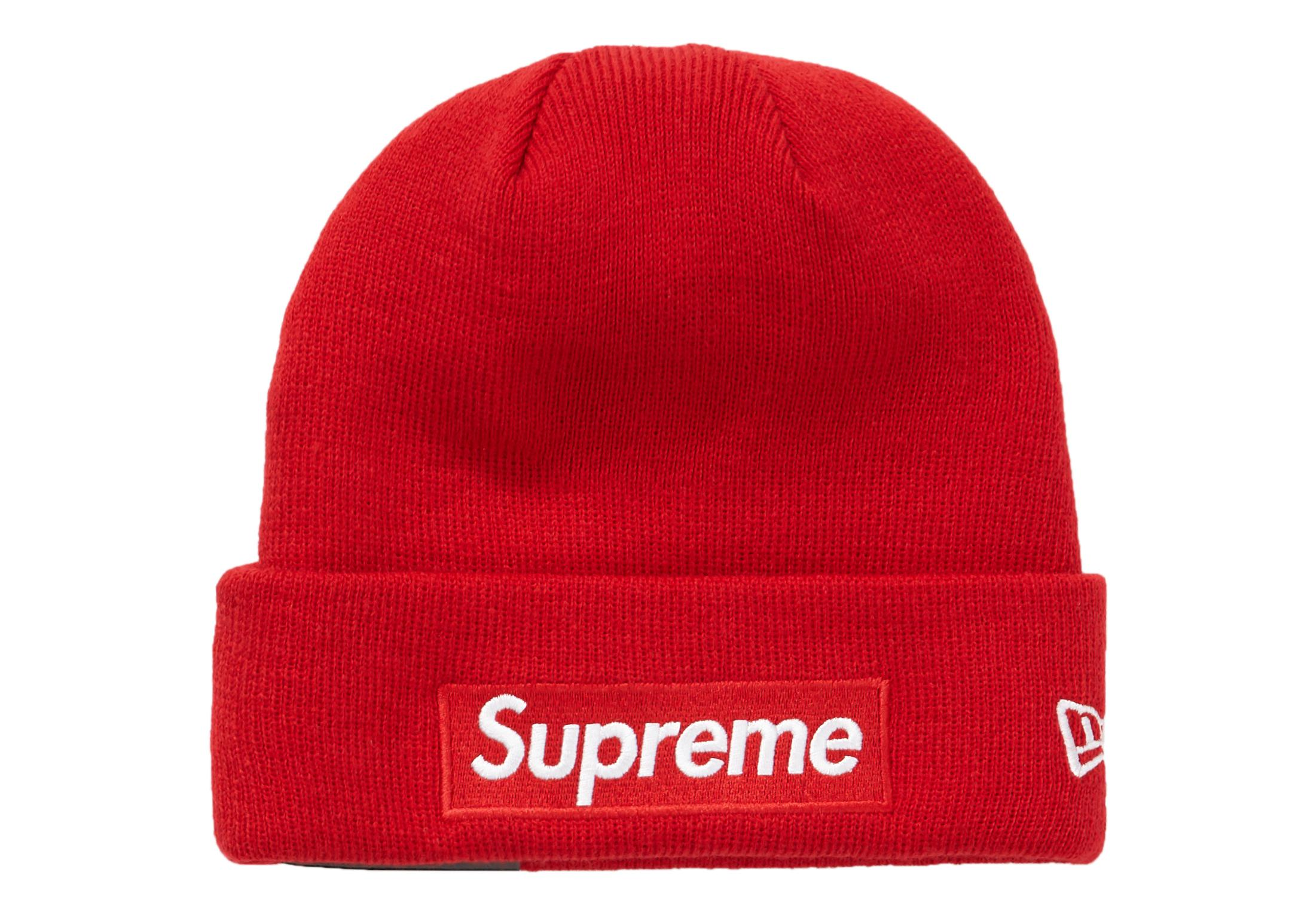 ef148aad3 Supreme New Era Box Logo Beanie (fw18) Red for men