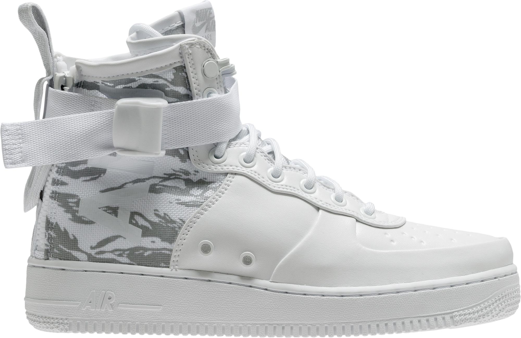 Nike Sf Air Force 1 Mid Winter Camo in