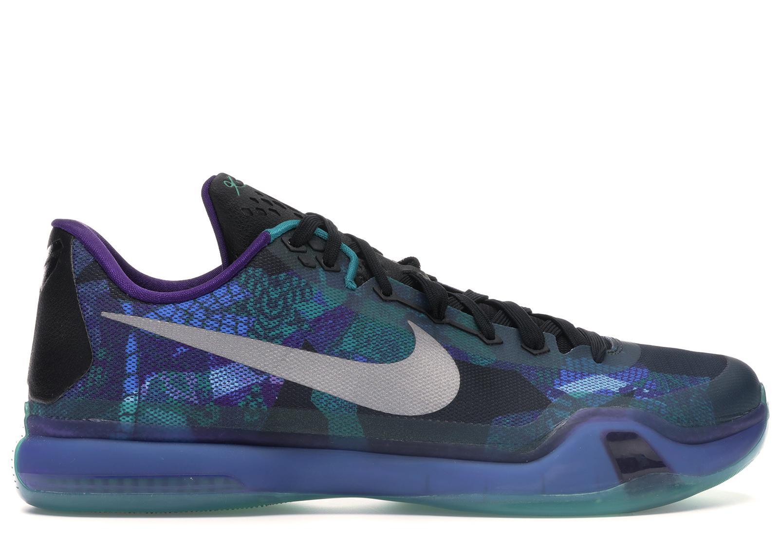 Nike Kobe 10 Peach Jam in Blue for Men