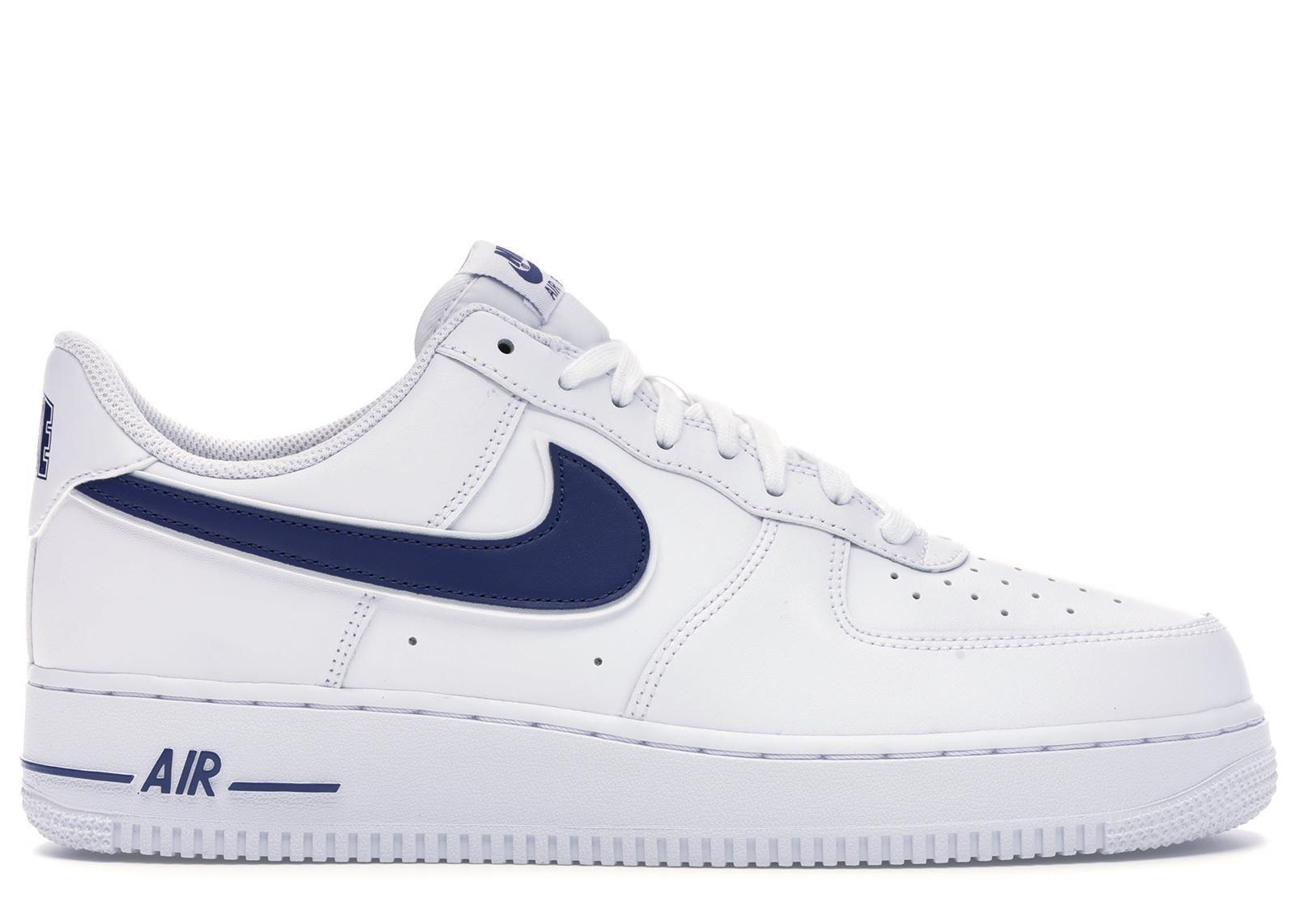 Air Force 1 Low White Deep Royal