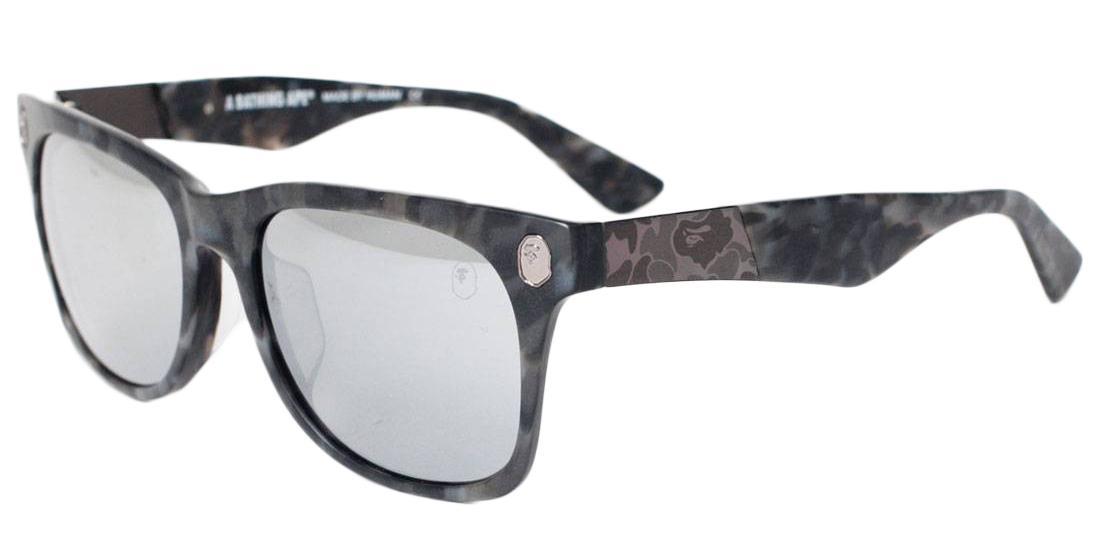840e151423 Lyst - A Bathing Ape Bs13043 Sunglasses Gray in Gray for Men